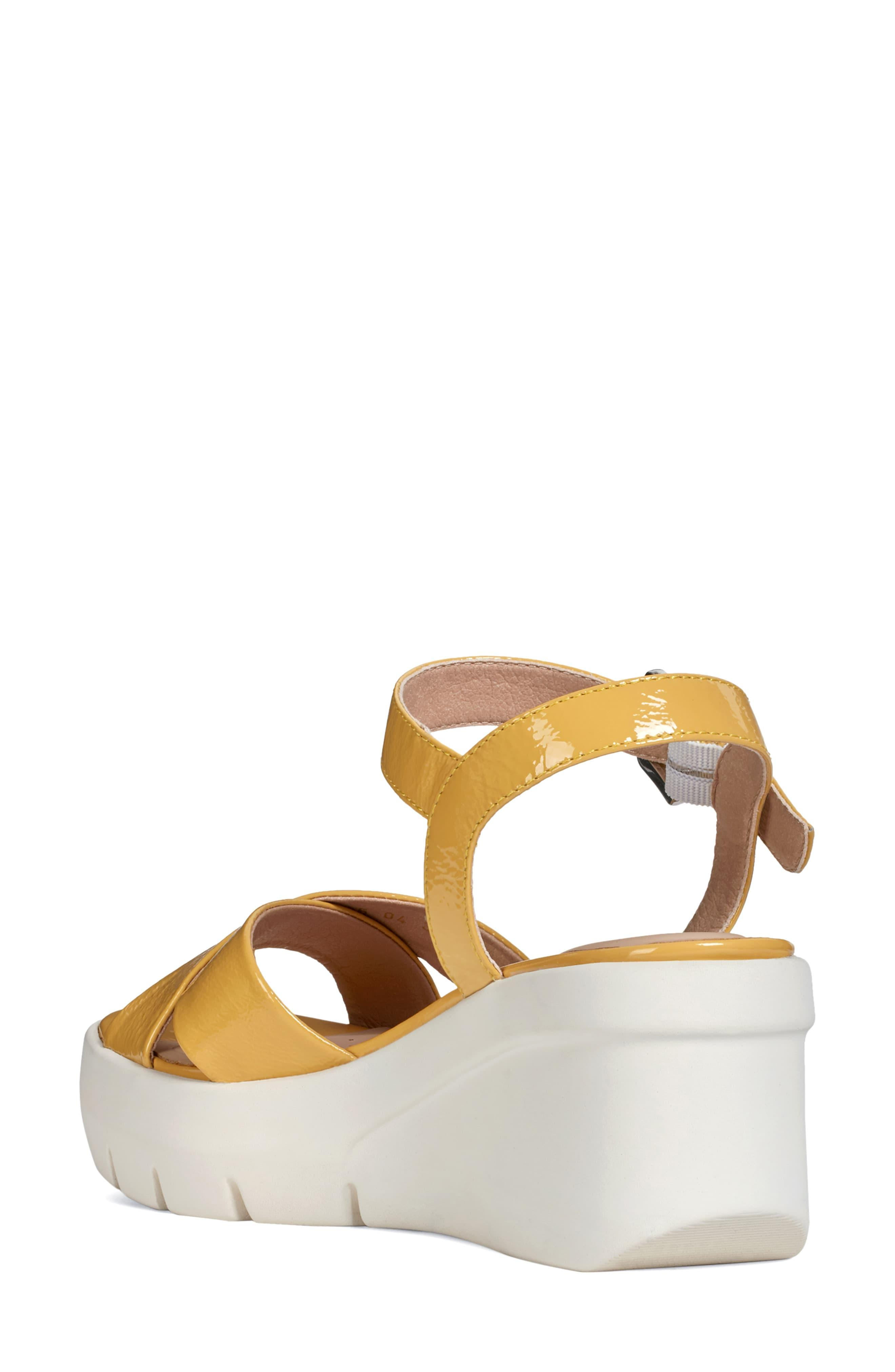 a1e57e84bf Geox Torrence Platform Sandal in Brown - Lyst