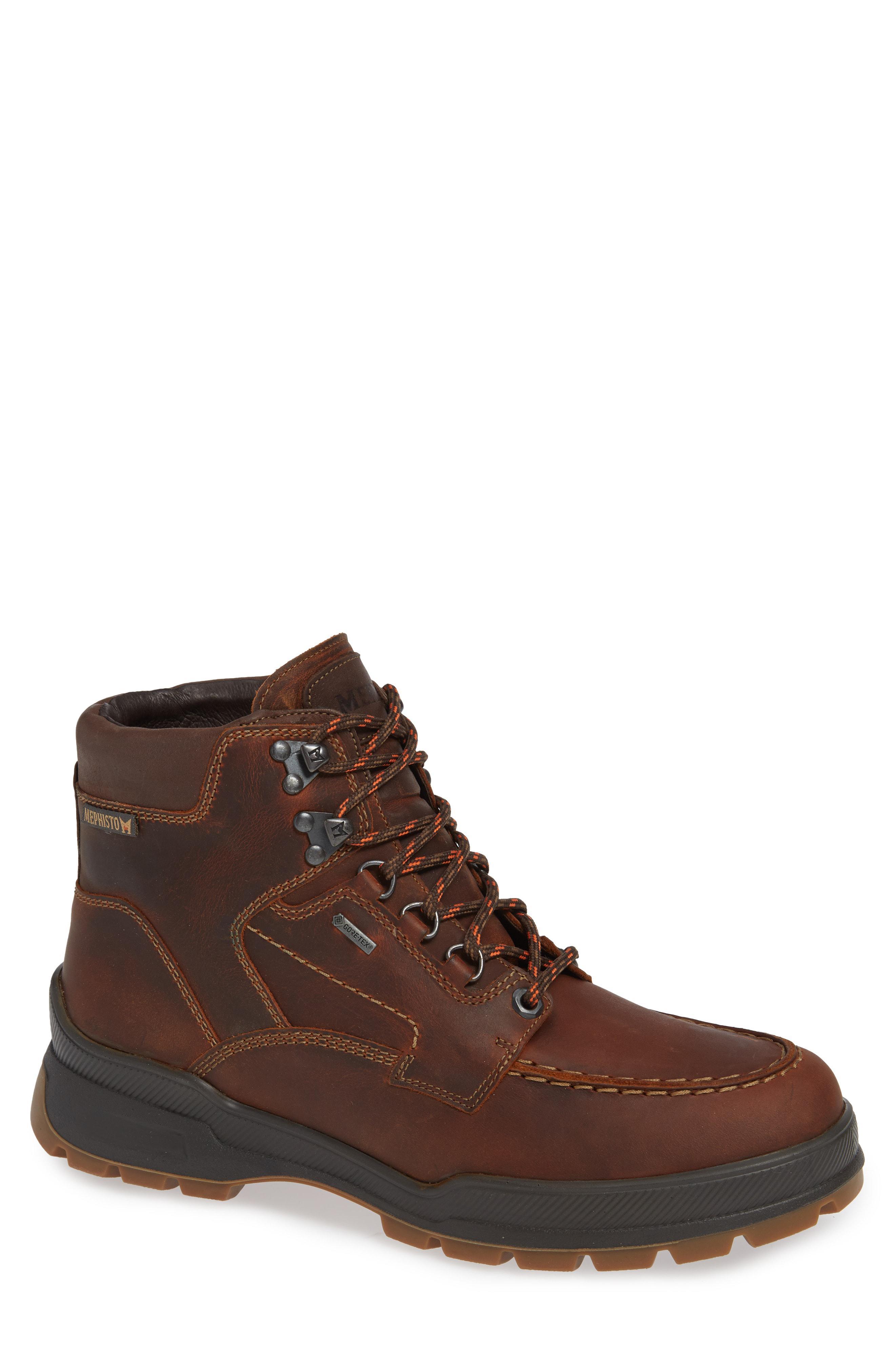 39e29de30a Mephisto Ivan Gore-tex Moc Toe Waterproof Boot in Brown for Men - Lyst