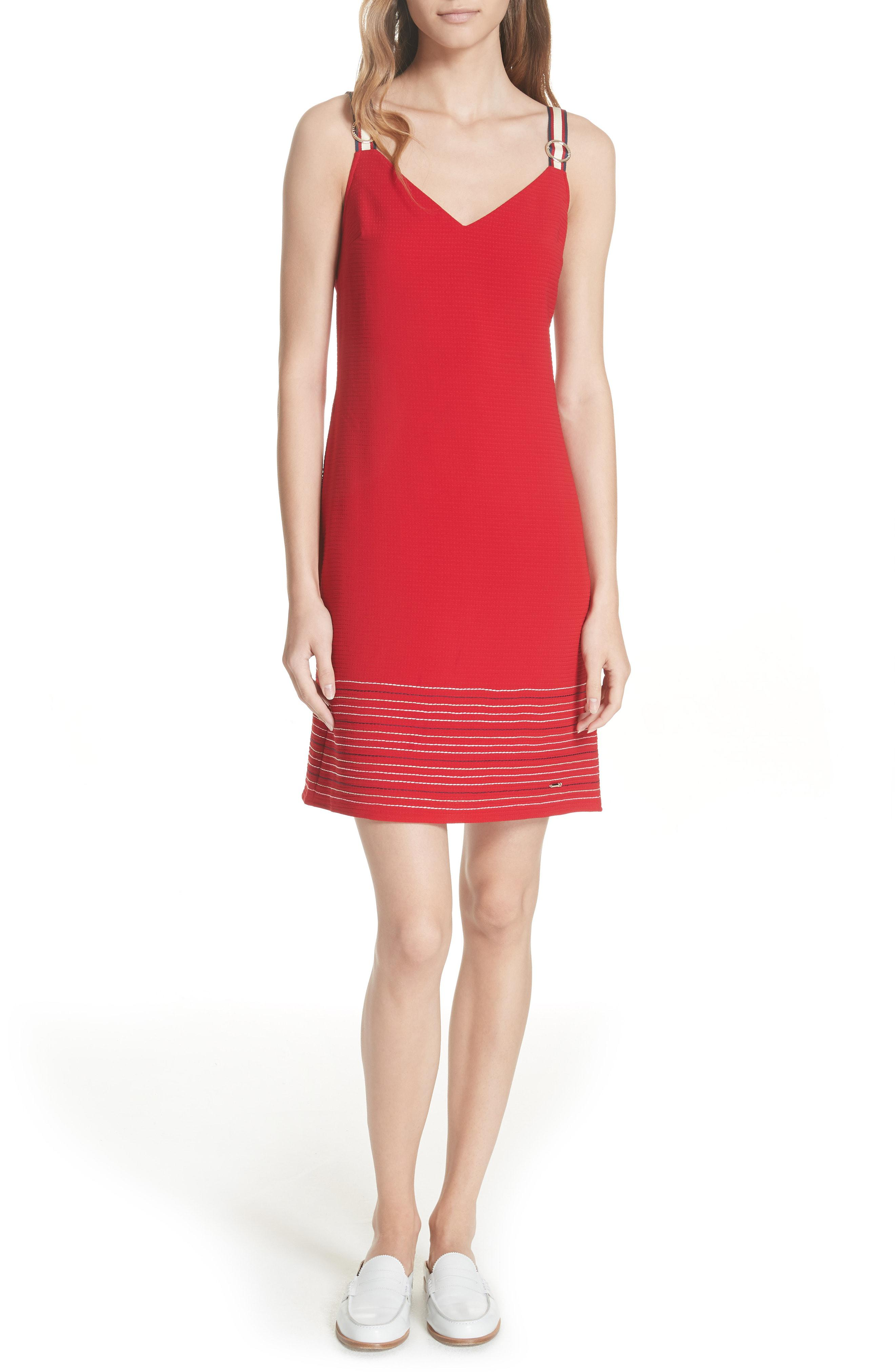 9ae96ec3d Lyst - Ted Baker Colour By Numbers Lanchal A-line Dress in Red