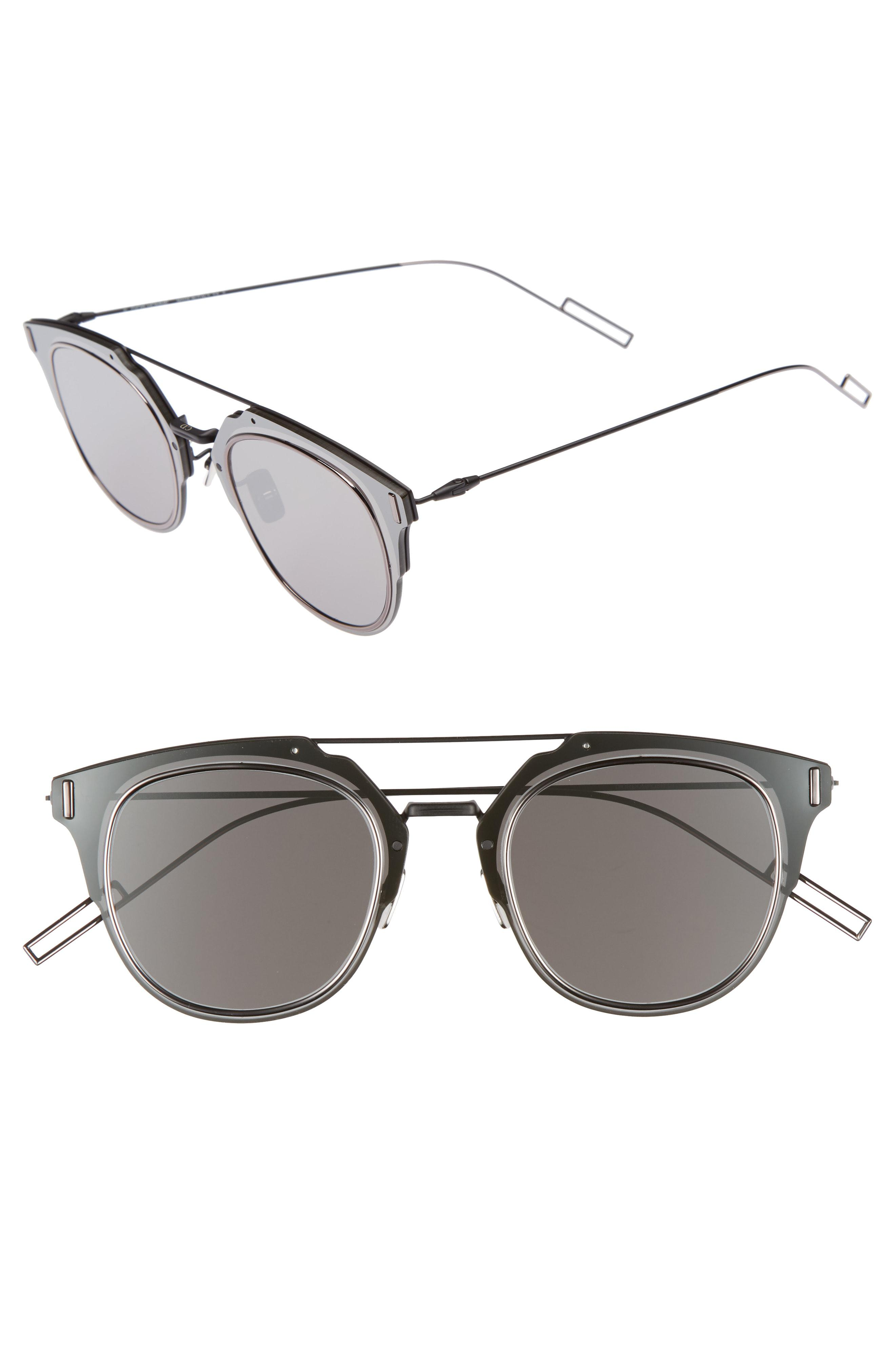 61c74137b9 Lyst - Dior  composit 1.0s  62mm Metal Shield Sunglasses - Oxford ...
