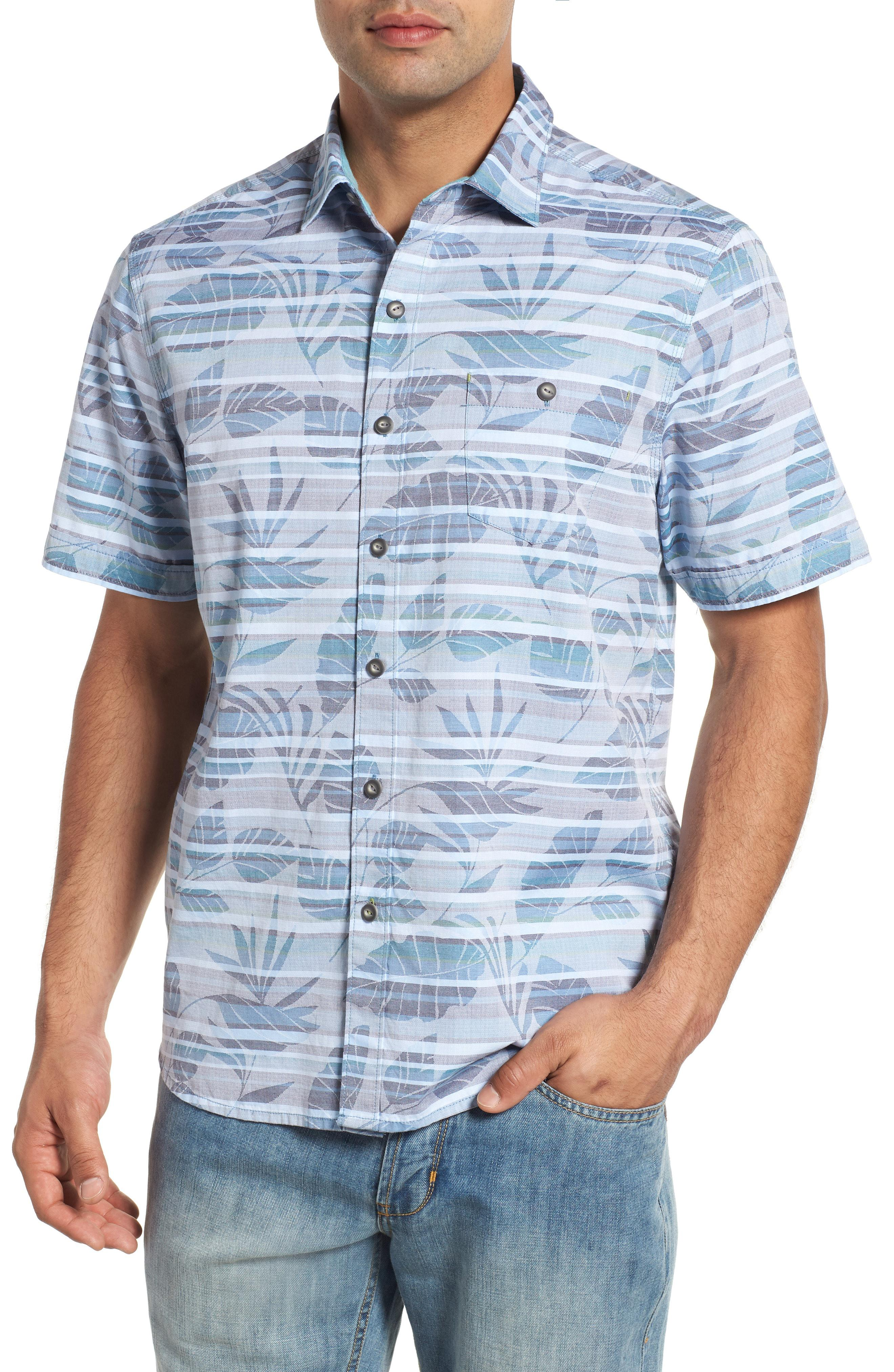 807ca8e2 Lyst - Tommy Bahama Playa Of Paradise Regular Fit Camp Shirt in Blue ...