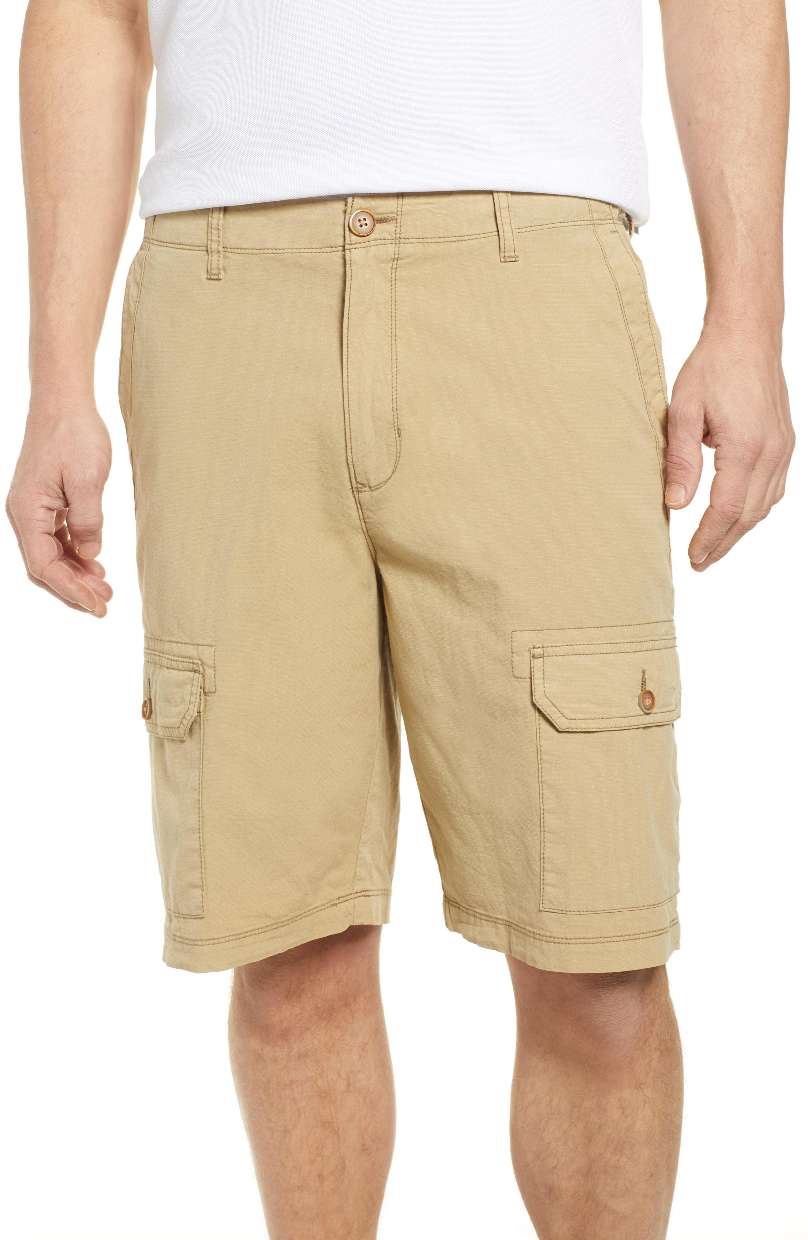 60a361fba8 Tommy Bahama. Men's Natural Riptide Classic Fit Ripstop Cargo Shorts