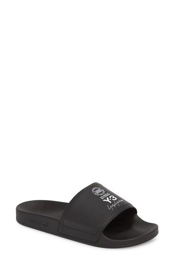 7a5d0f4d6b69a Lyst - Y-3 X Adidas Adilette Slide Sandal in Black