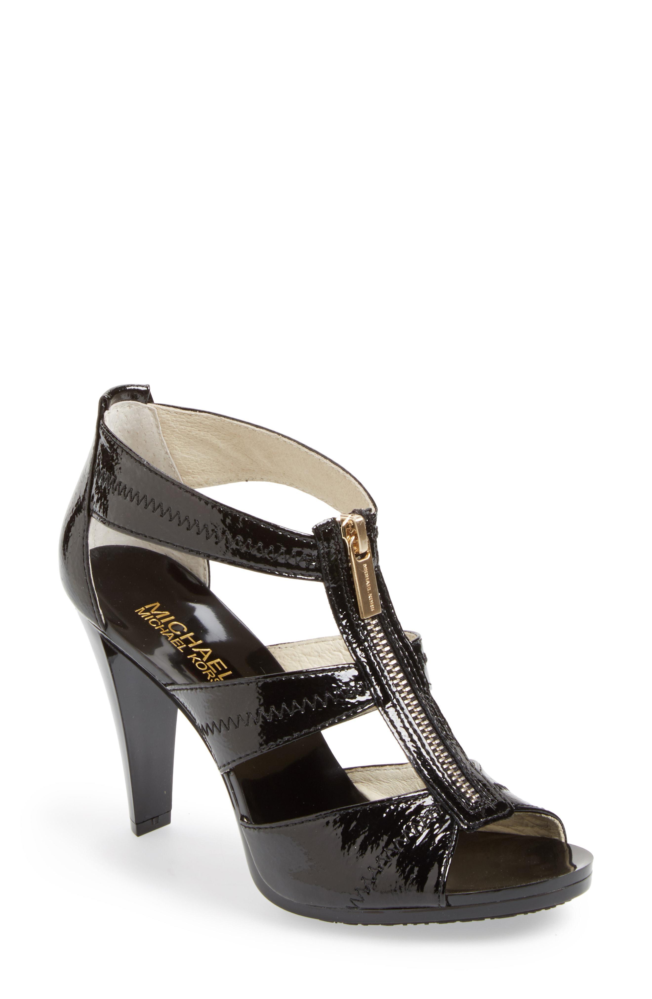 713917e694e4 Lyst - Michael Michael Kors Berkley Sandal in Black