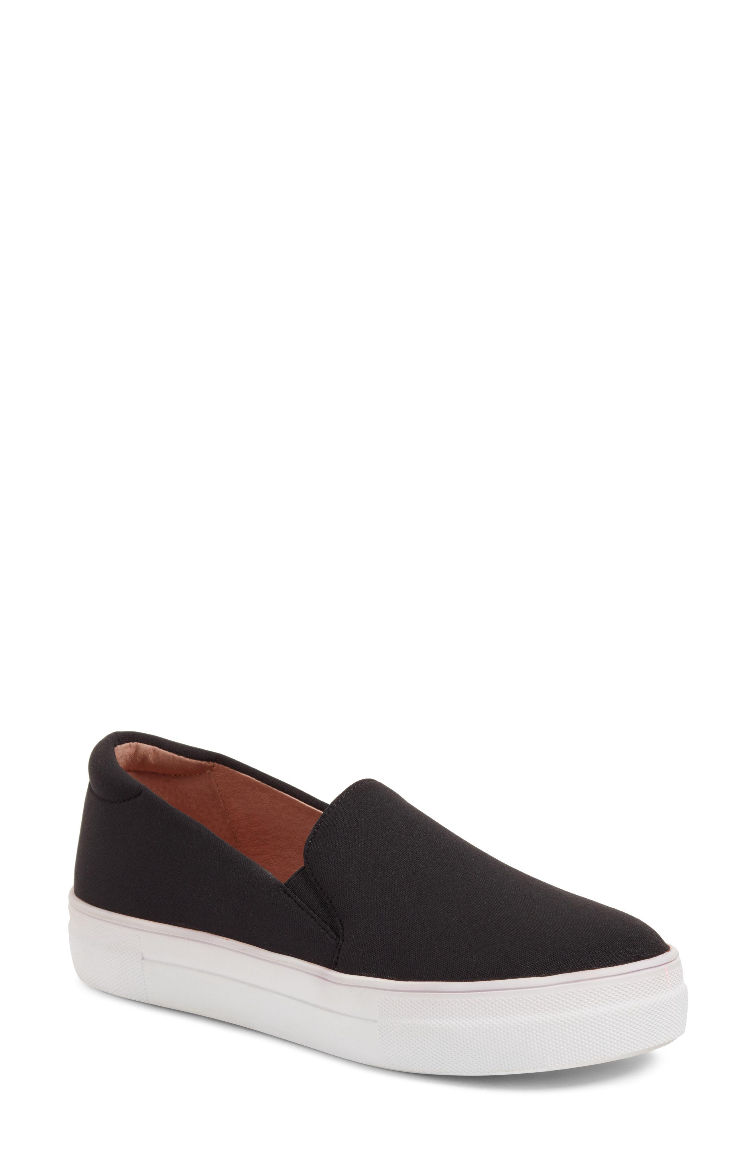 5e7b973b90d Lyst - Caslon Caslon Alden Slip-on Sneaker in Black