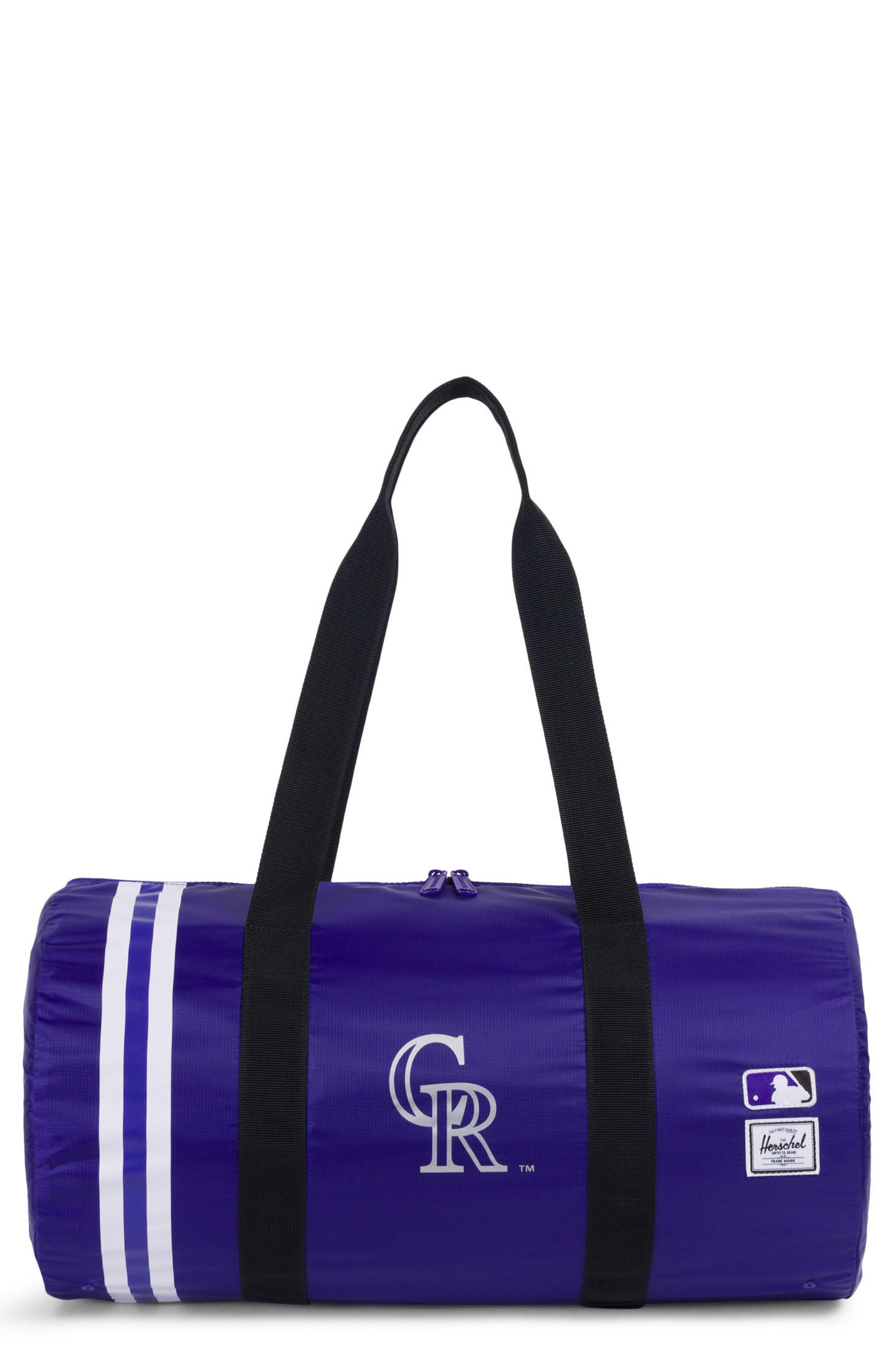 6efa92c1f5 Herschel Supply Co. Men s Purple Packable - Mlb National League Duffel Bag