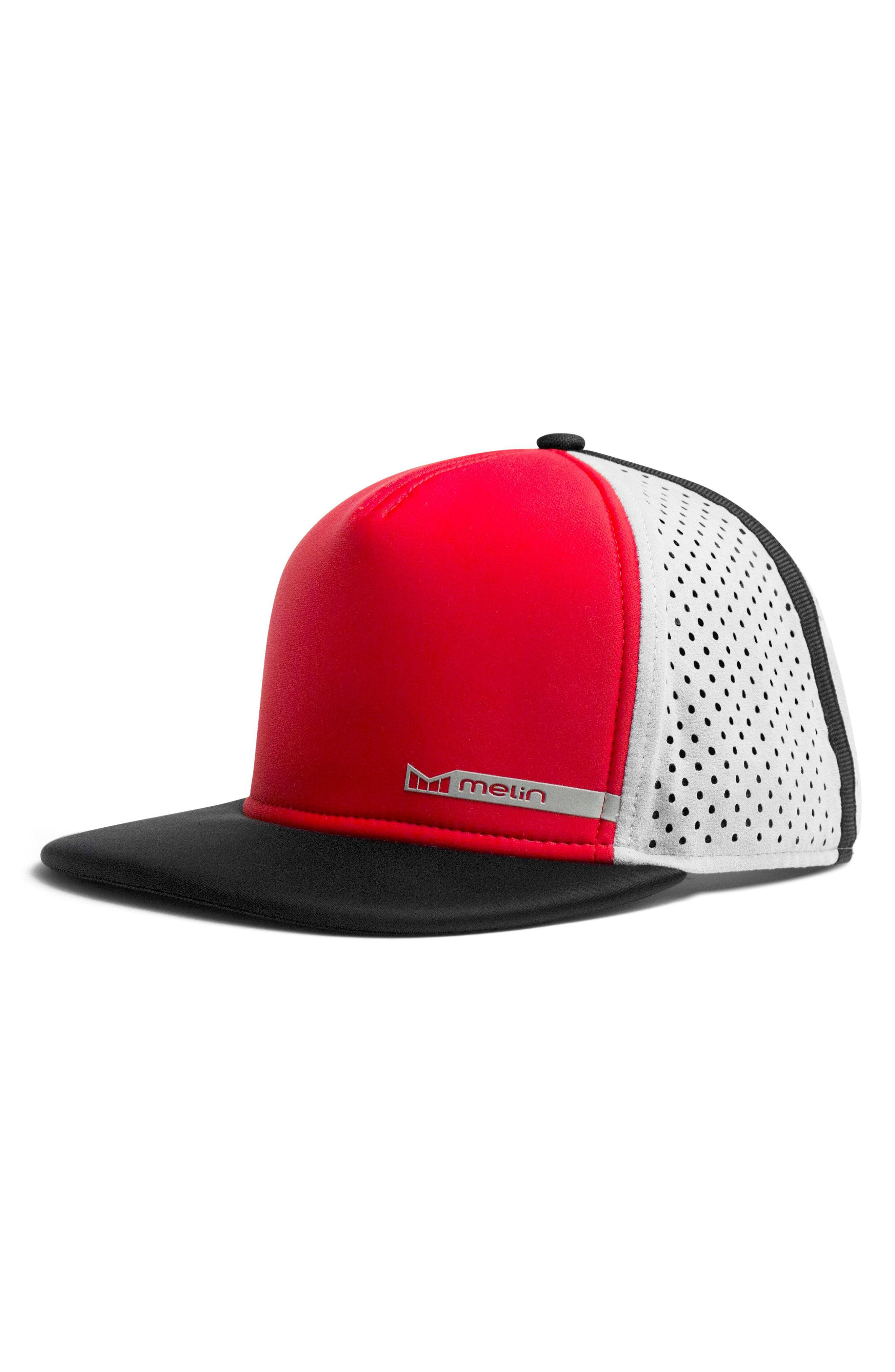 timeless design fea11 e15da ... amazon lyst melin amphibian split fit snapback baseball cap in black  a0a93 fe73f