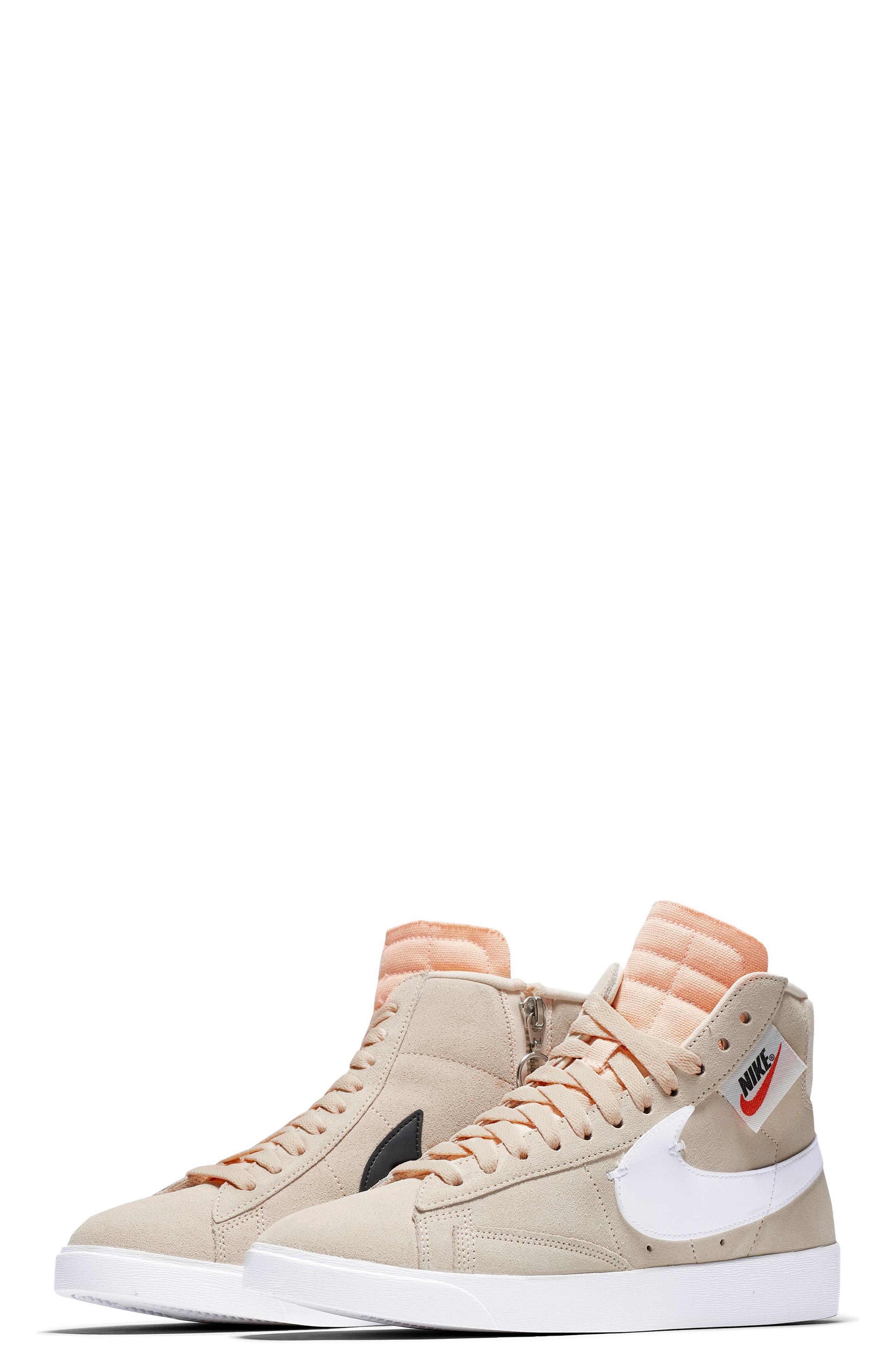 14fbacb9390dcc Lyst - Nike Blazer Mid Rebel Sneaker in Orange