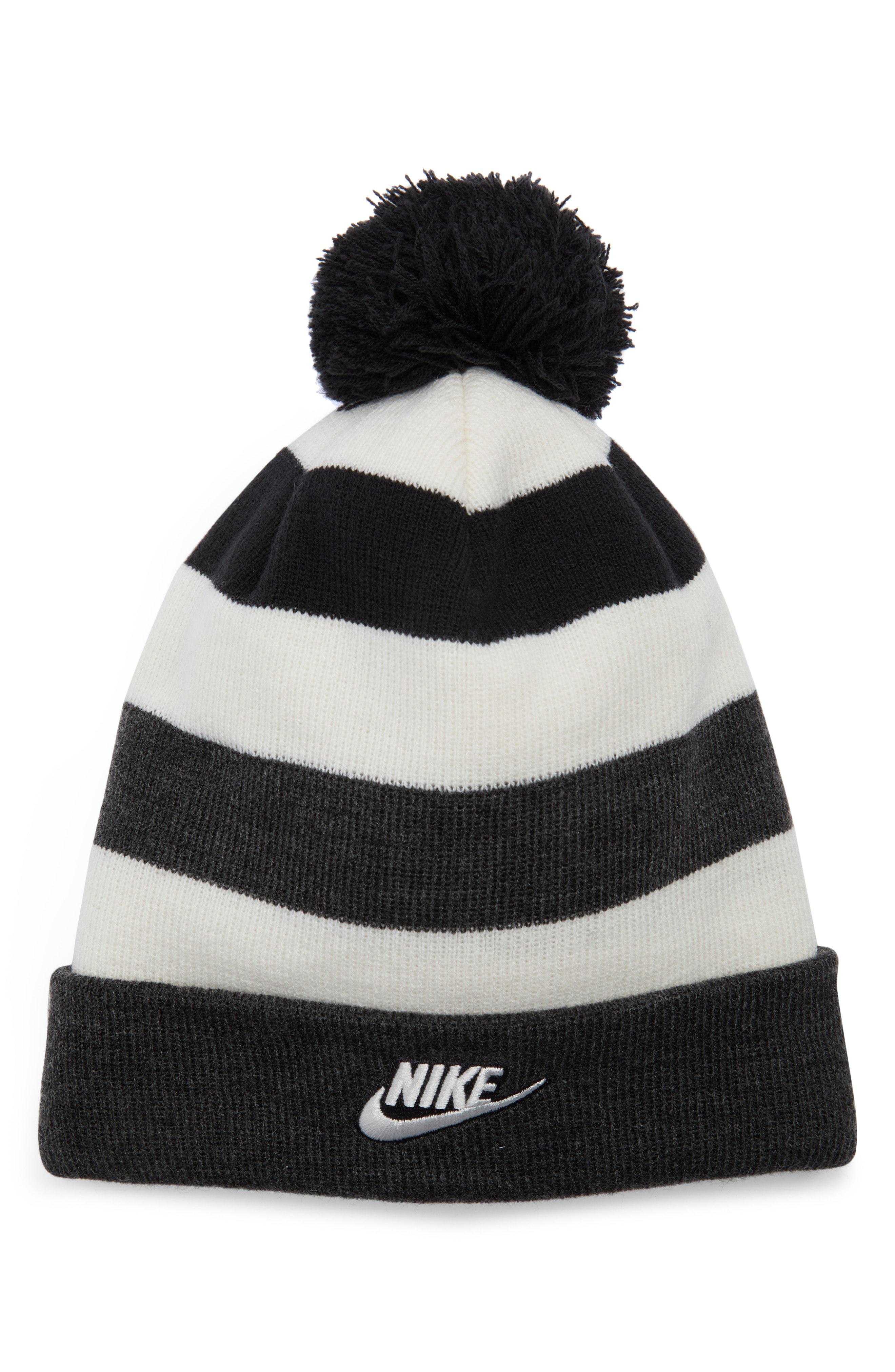 Lyst - Nike Sportswear Women s Beanie in Black db78a84246fa