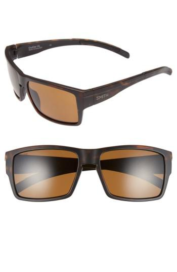 1ed8e224861 Lyst - Smith  outlier Xl  56mm Polarized Sunglasses - in Brown