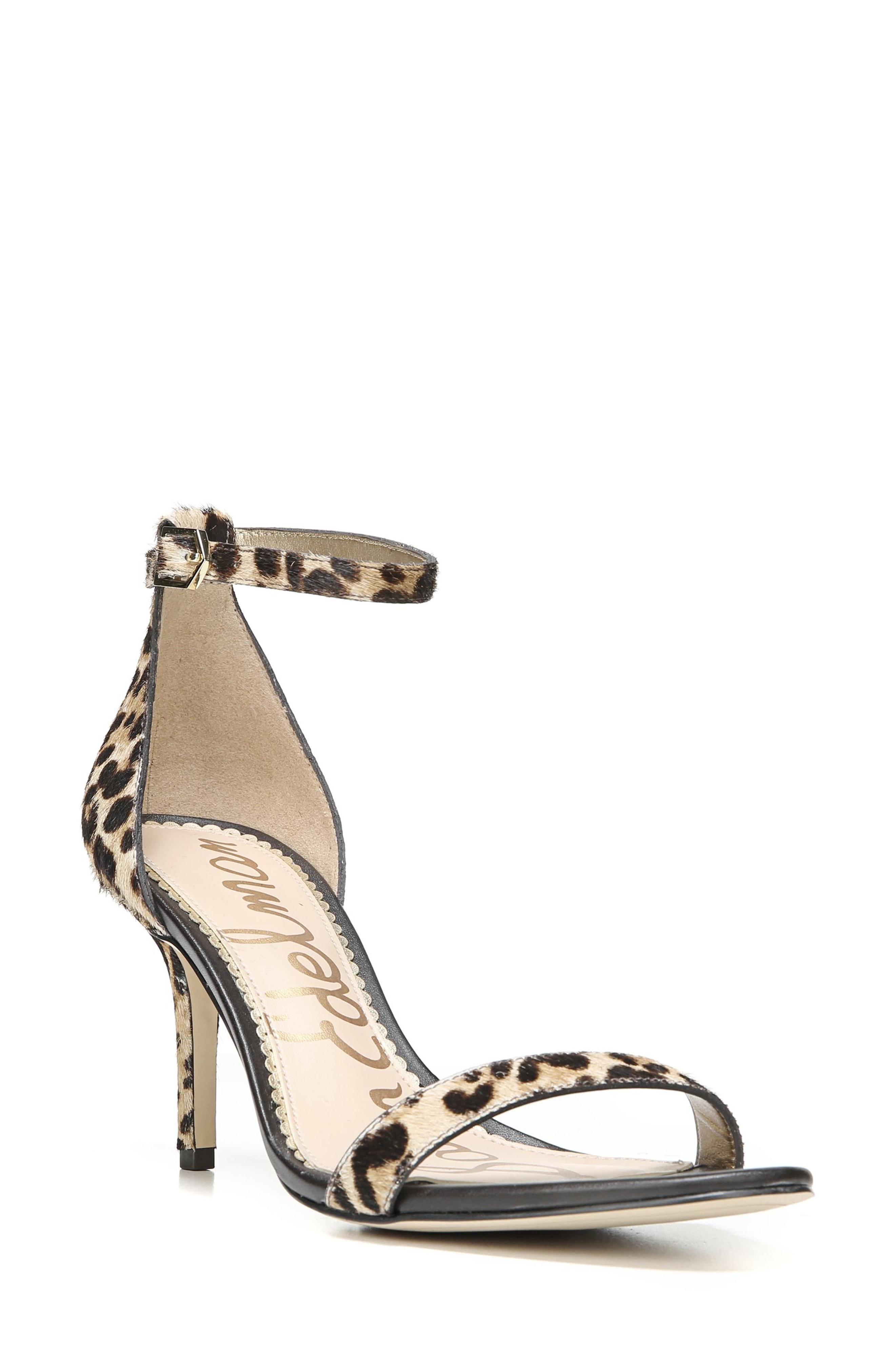 f3e600f9179 Lyst - Sam Edelman  patti  Ankle Strap Sandal in Natural - Save 16%