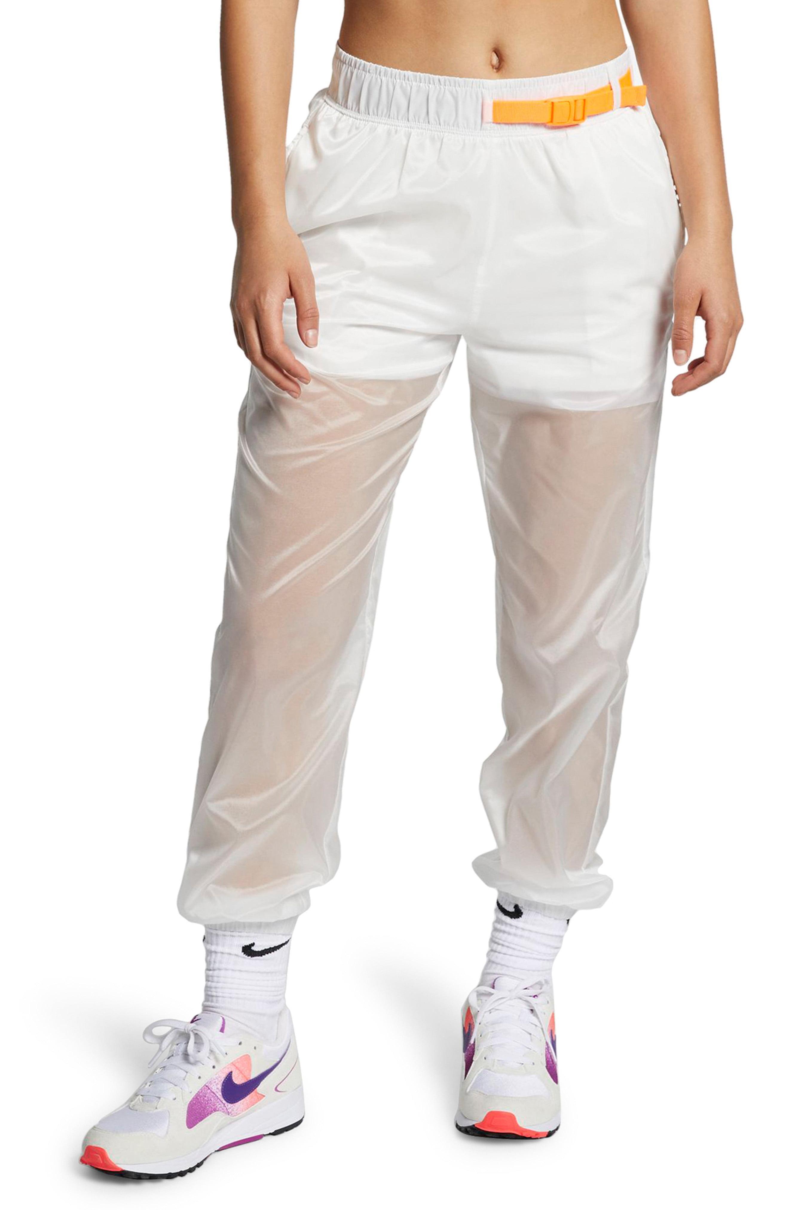 b373a6e46df651 Lyst - Nike Sportswear Tech Pack Women s Woven Pants in White