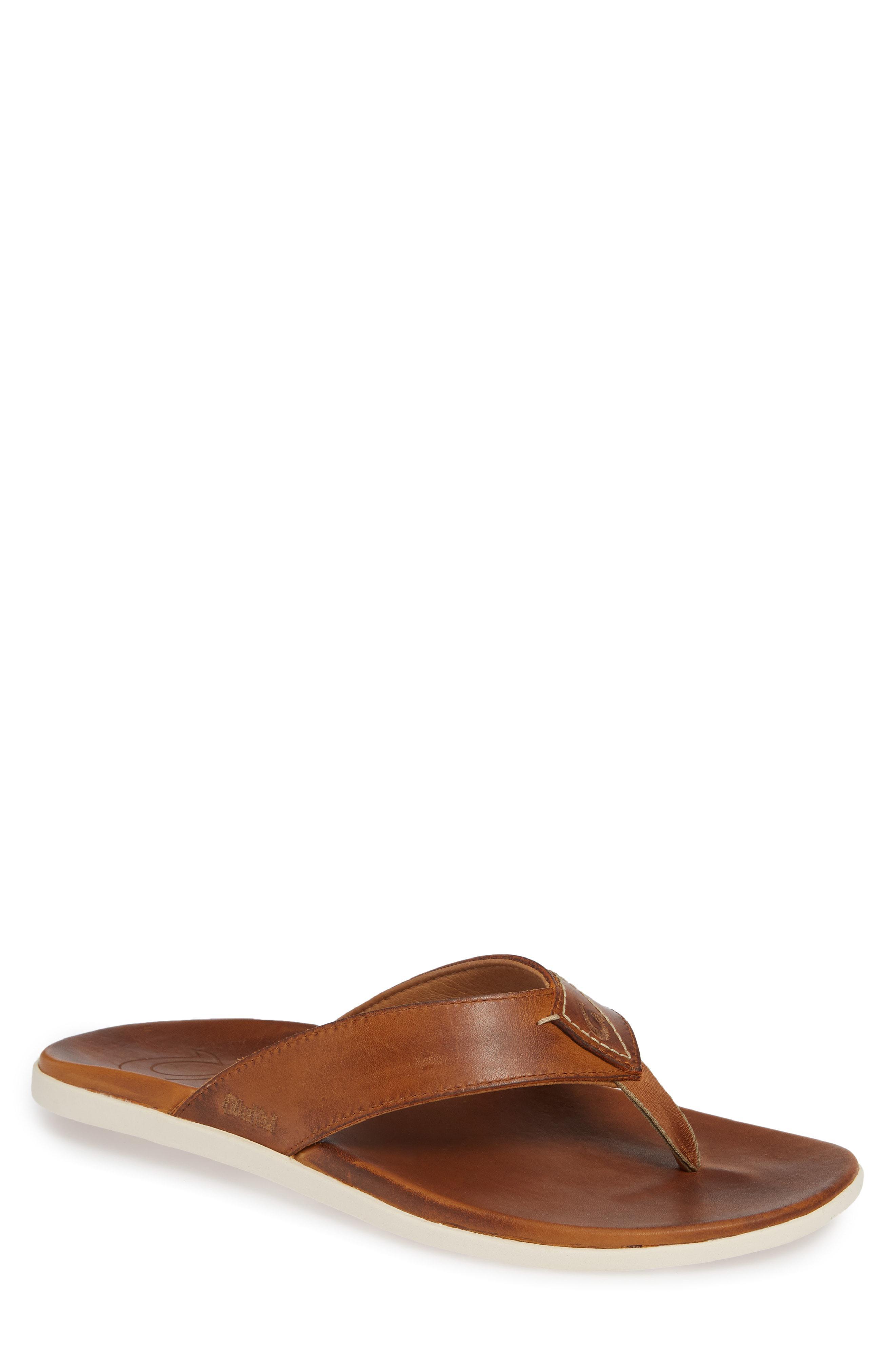 960d6a2c8af6 Lyst - Olukai Nalukai Flip Flop in Brown for Men