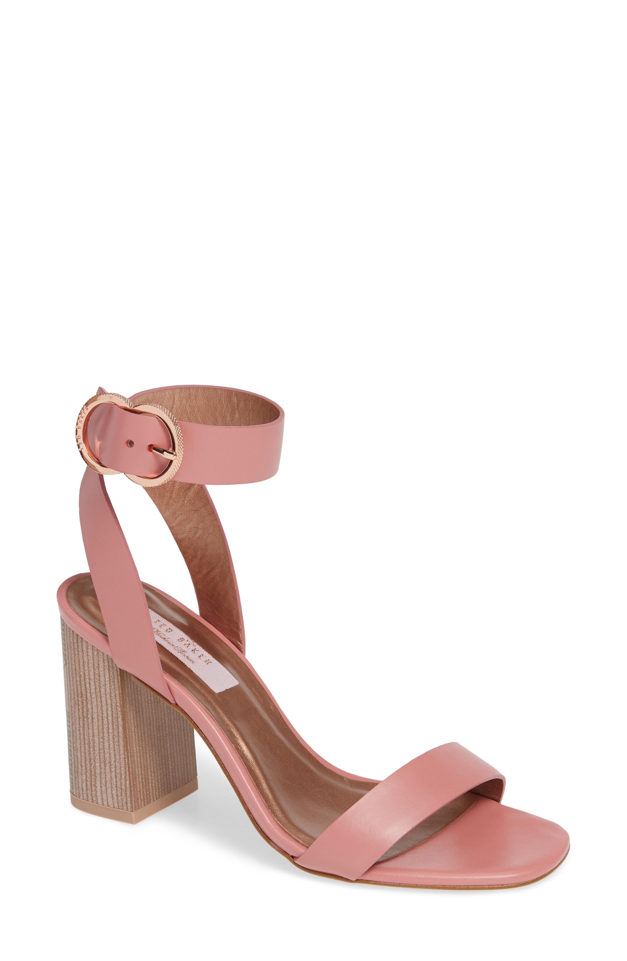 fffd189f7 Lyst - Ted Baker Vallama Block Heel Sandal