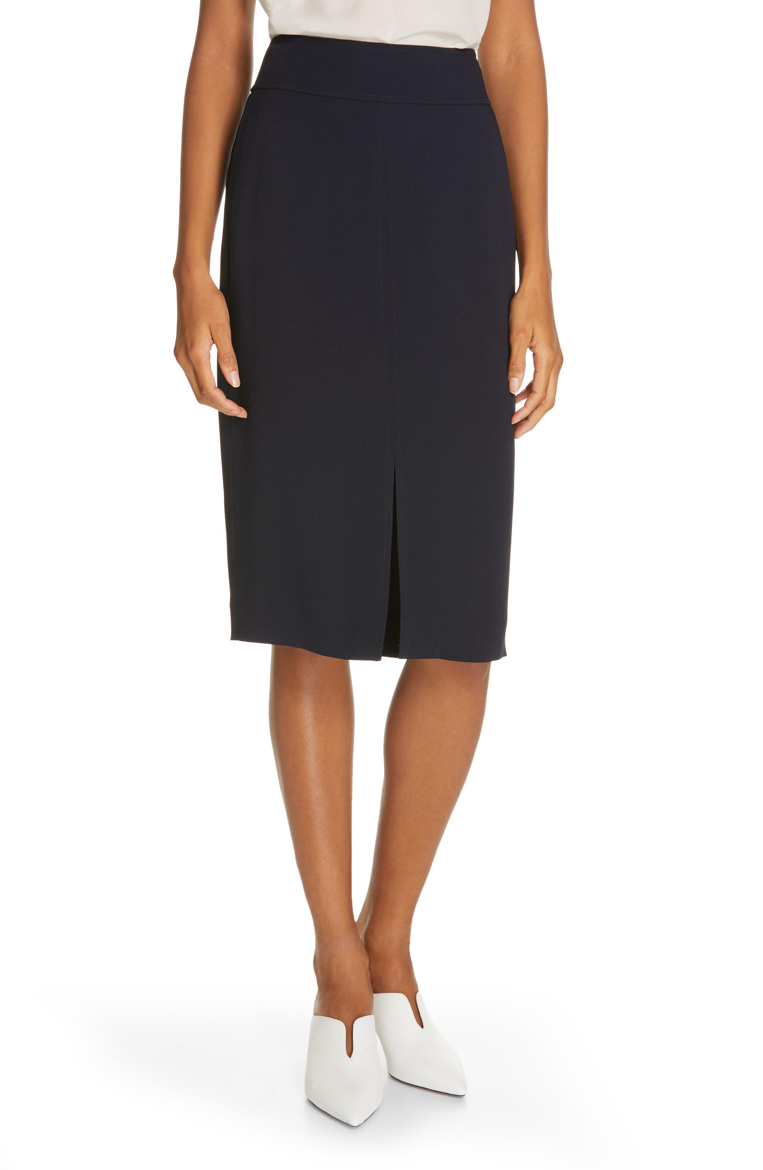 d6a0392d4 Lyst - Lewit Pencil Skirt in Black