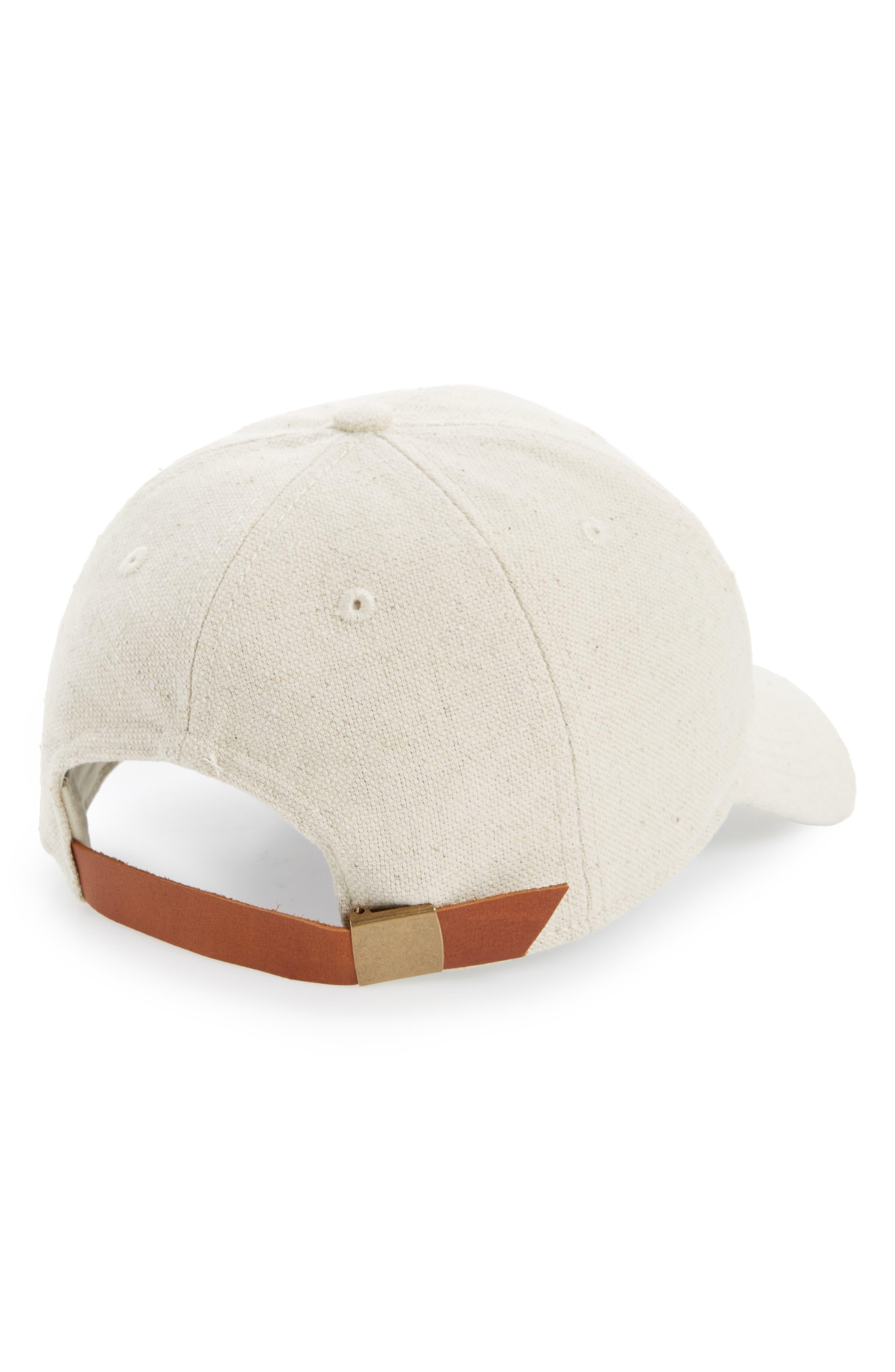 24fb40b4 Lyst - Madewell Cotton & Linen Baseball Cap