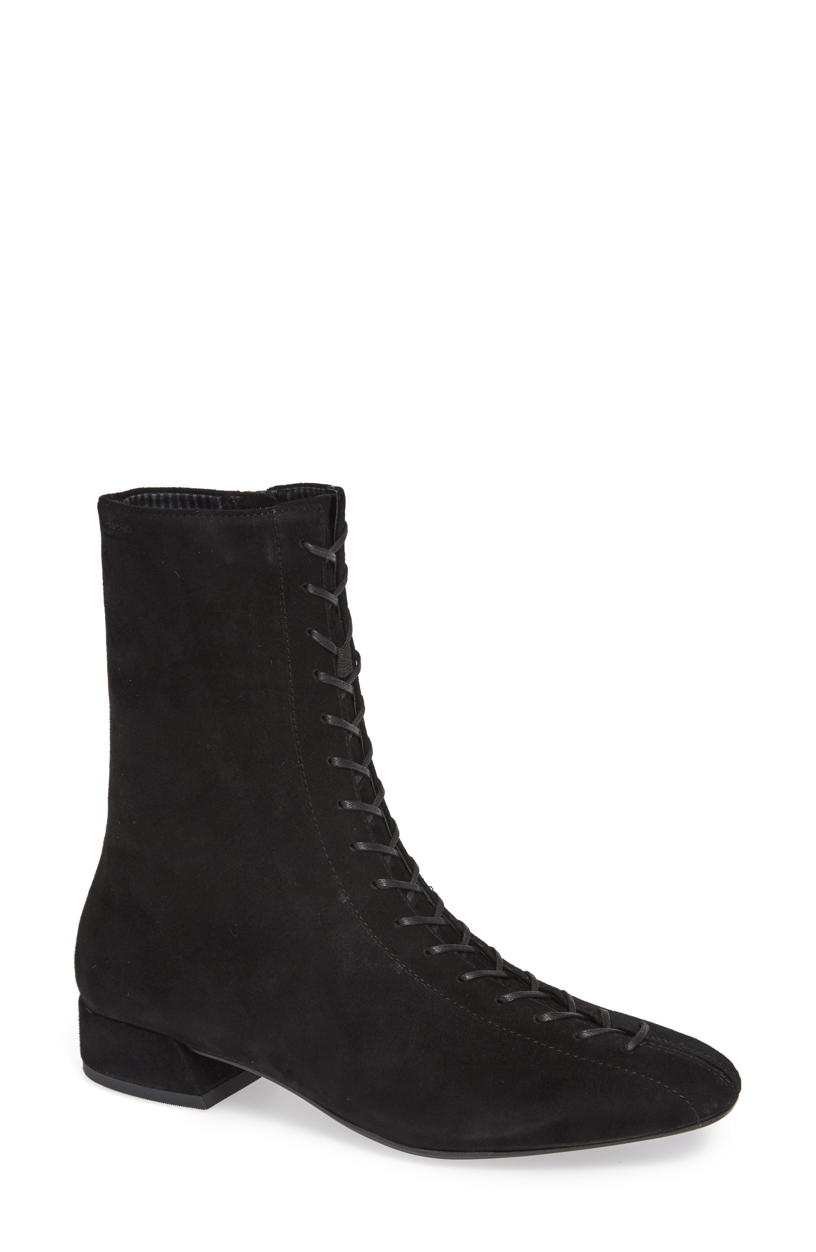 099e0115557 Lyst - Vagabond Shoemakers Joyce Lace-up Bootie in Black