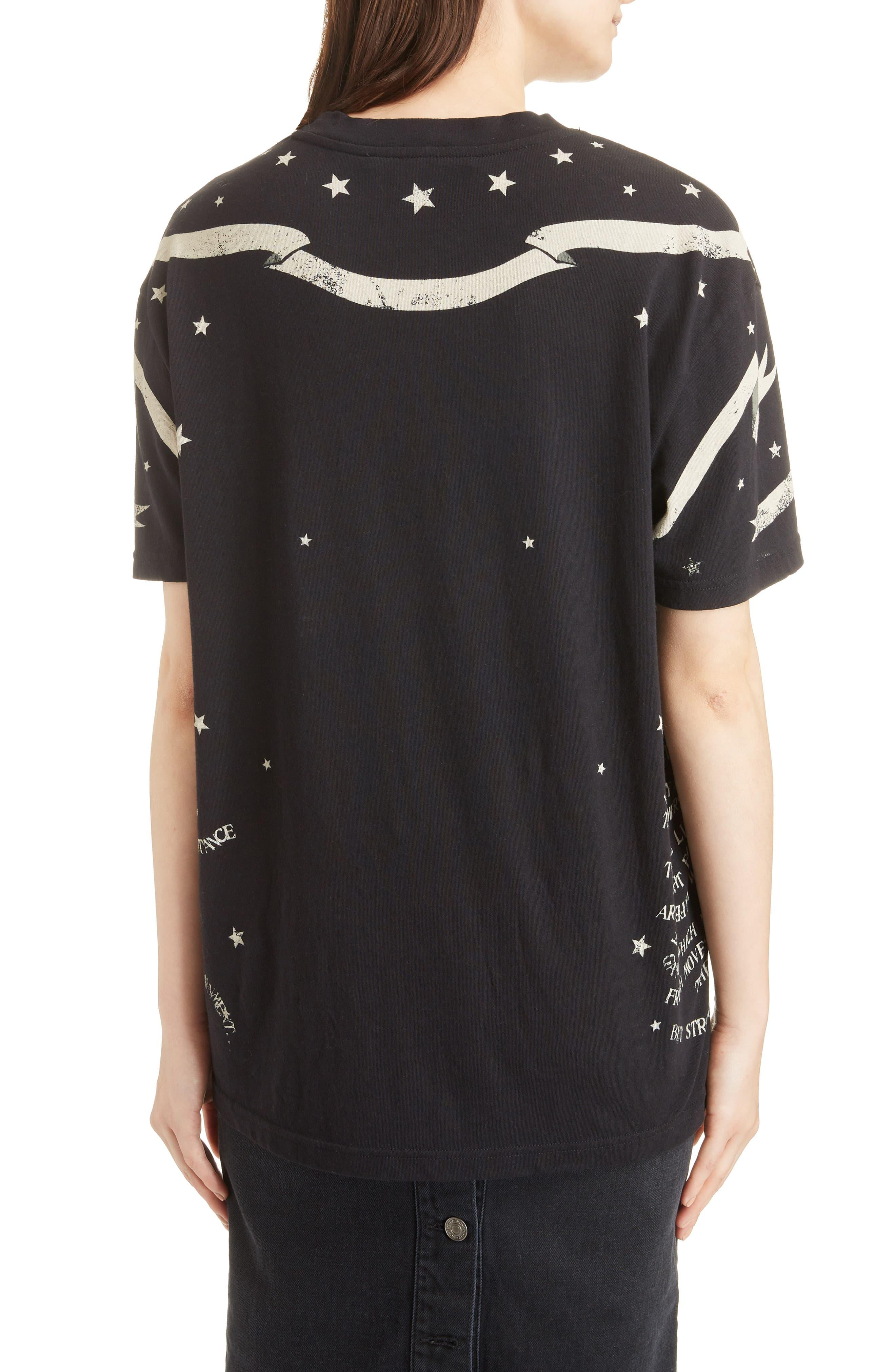 876d8b302 Givenchy Gemini Graphic Tee in Black - Lyst