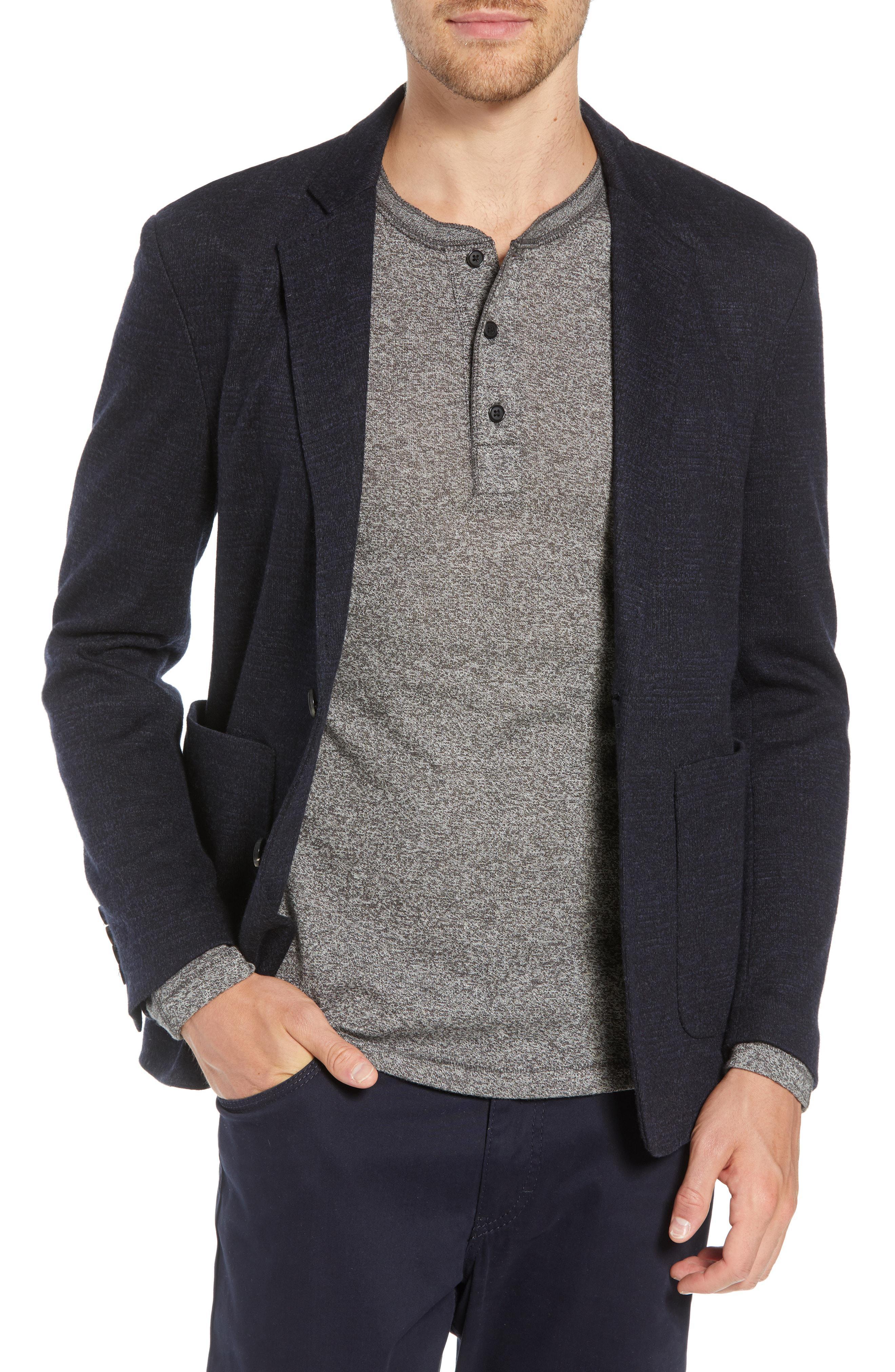 16c7cb0393f Lyst - Billy Reid Dylan Knit Sport Coat in Gray for Men
