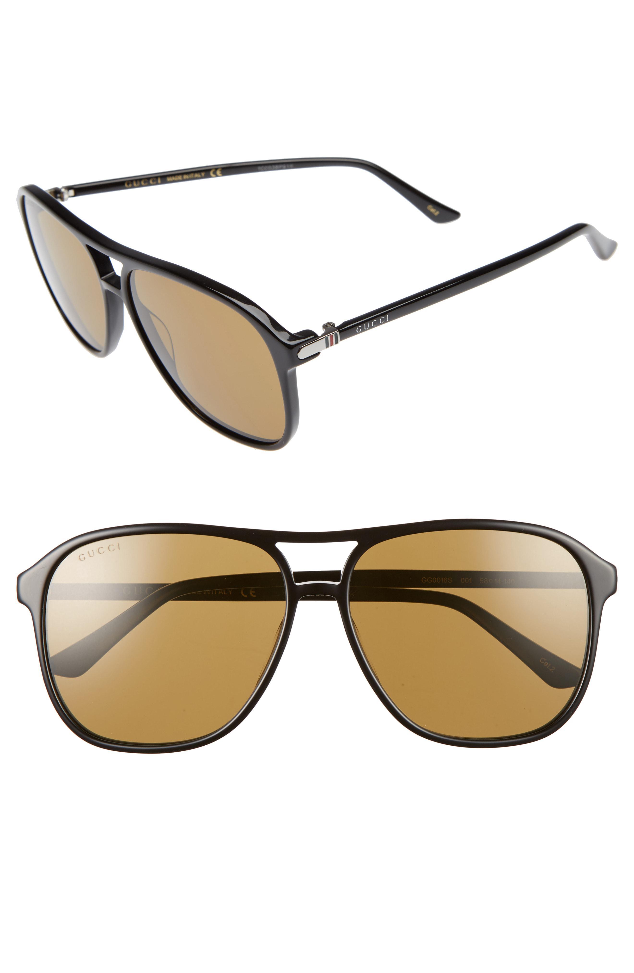 f518730db85 Gucci - Multicolor Retro Web 58mm Sunglasses for Men - Lyst. View fullscreen