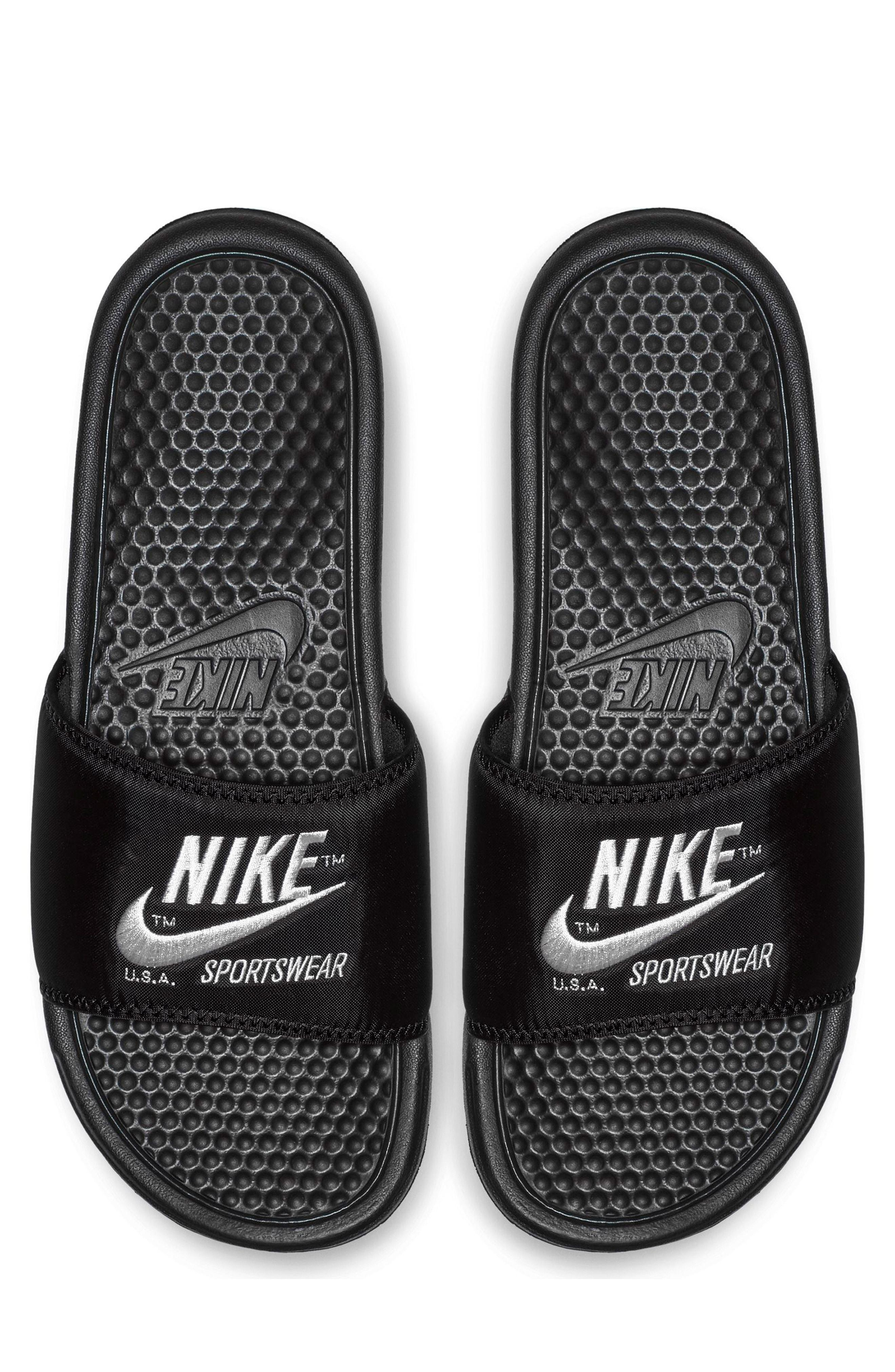 huge discount c3ad2 b57e1 Nike - Multicolor Benassi Jdi Slide Sandal - Lyst. View fullscreen