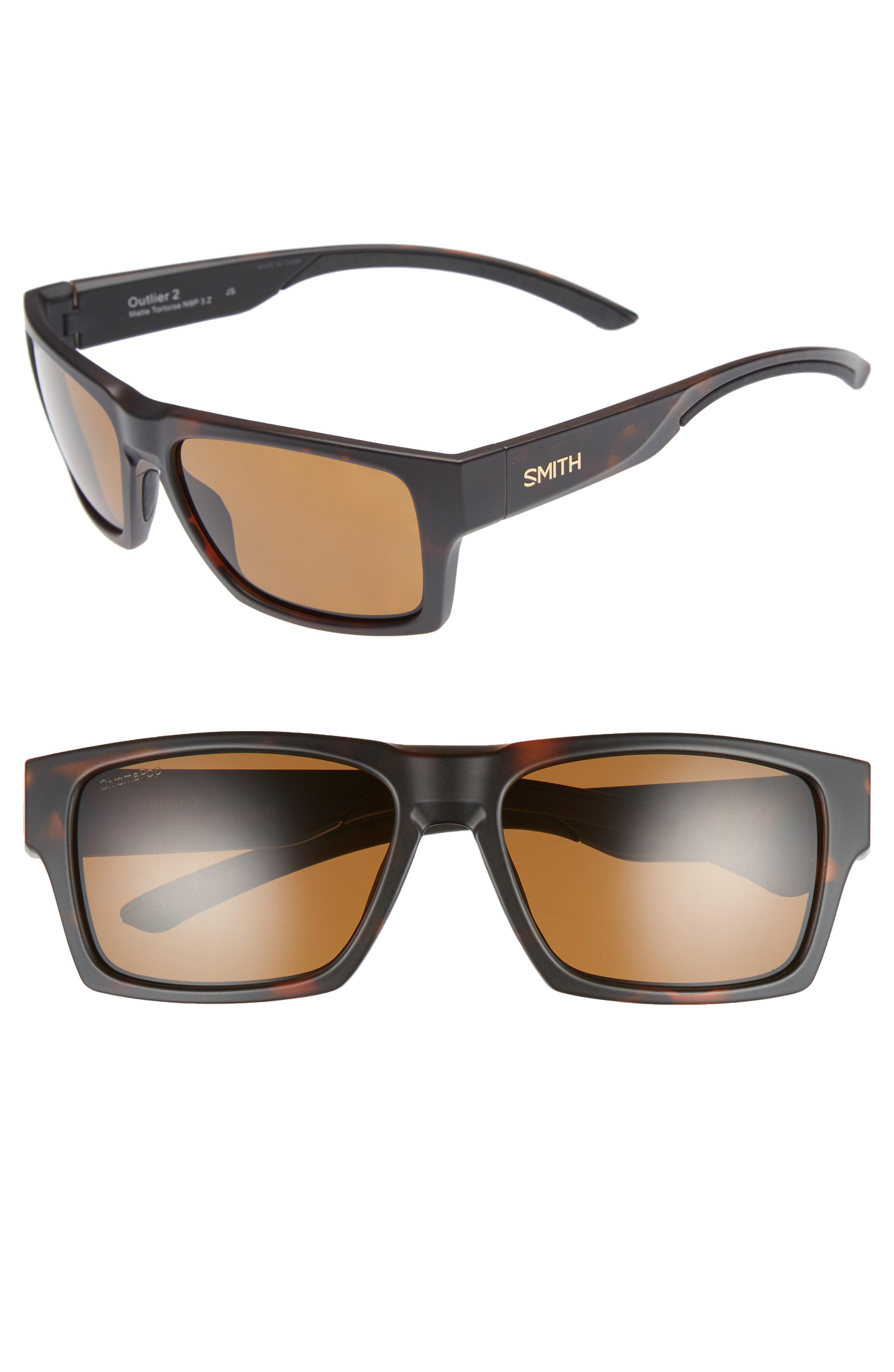 9af202034f Smith - Brown Outlier 2 57mm Chromapop(tm) Sunglasses for Men - Lyst. View  fullscreen