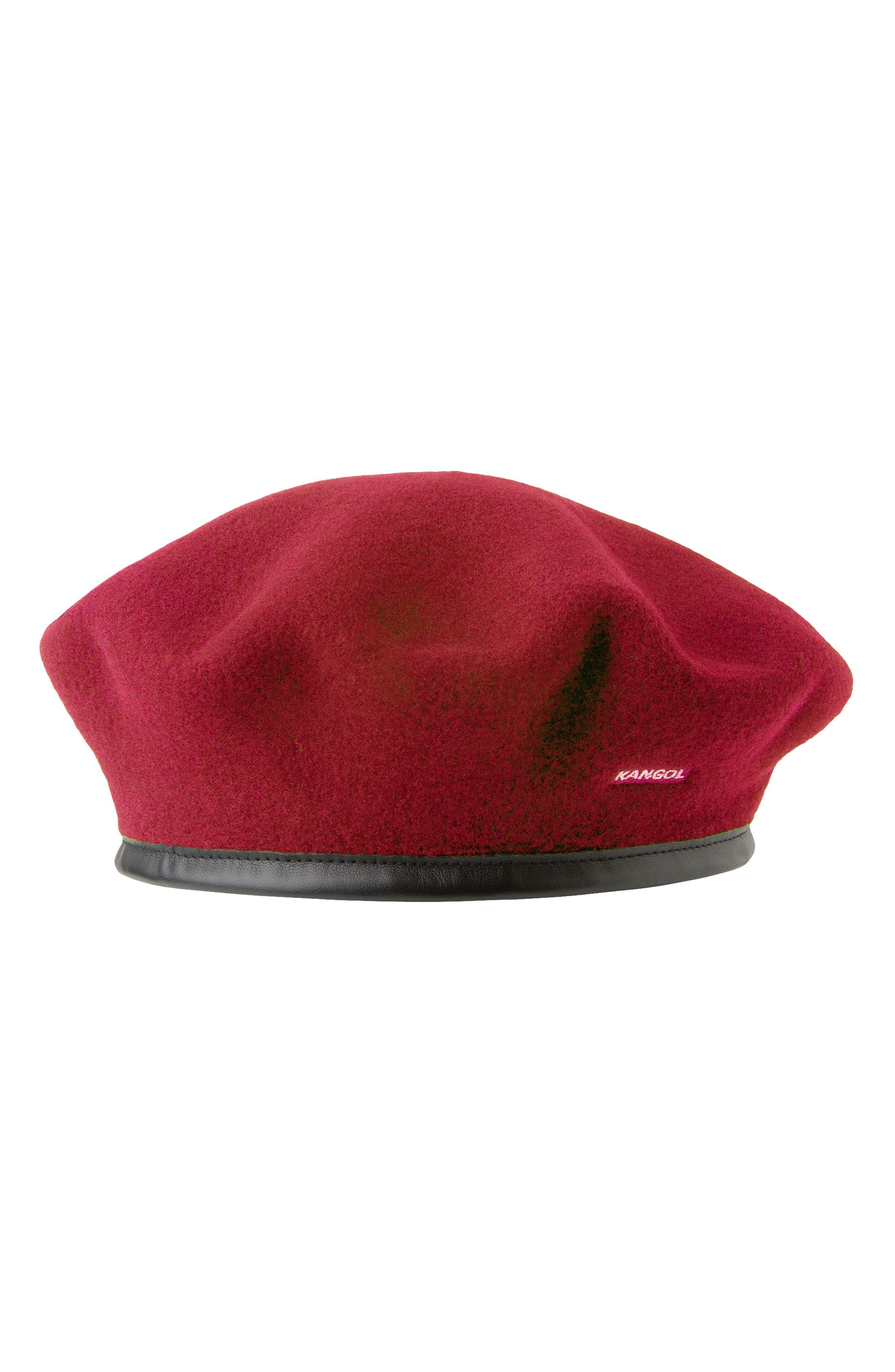 0ab8c6e09d37e Kangol - Red Monty Wool Beret - Lyst. View fullscreen