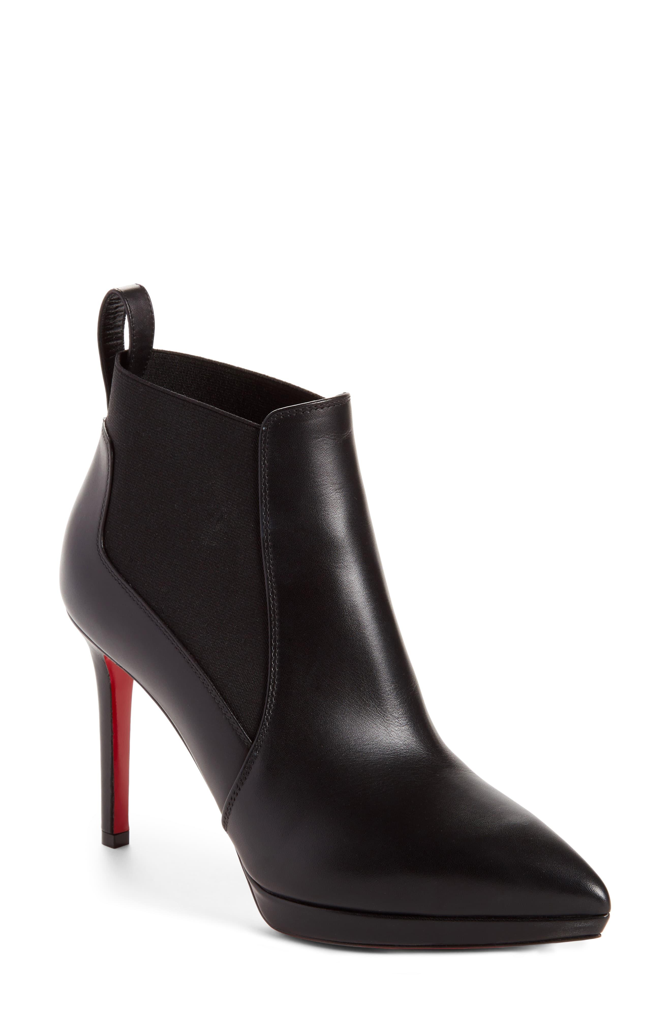speical offer temperament shoes 2018 sneakers Christian Louboutin Leather Crochinetta in Black - Lyst