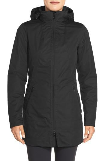 Lyst The North Face Ancha Hooded Waterproof Parka In Black