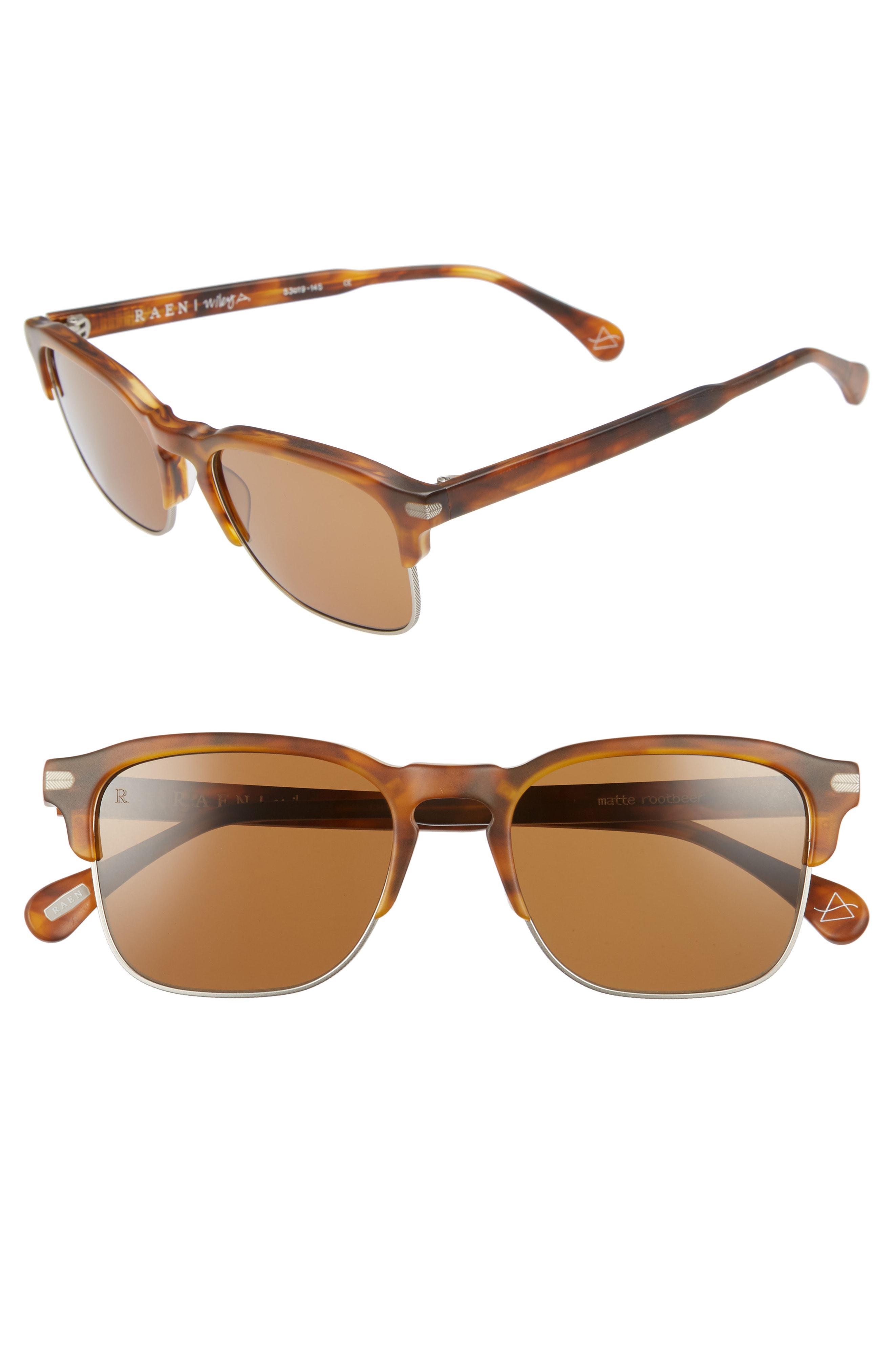7350d92539 Lyst - Raen Wiley A 53mm Sunglasses - Americano in Brown for Men