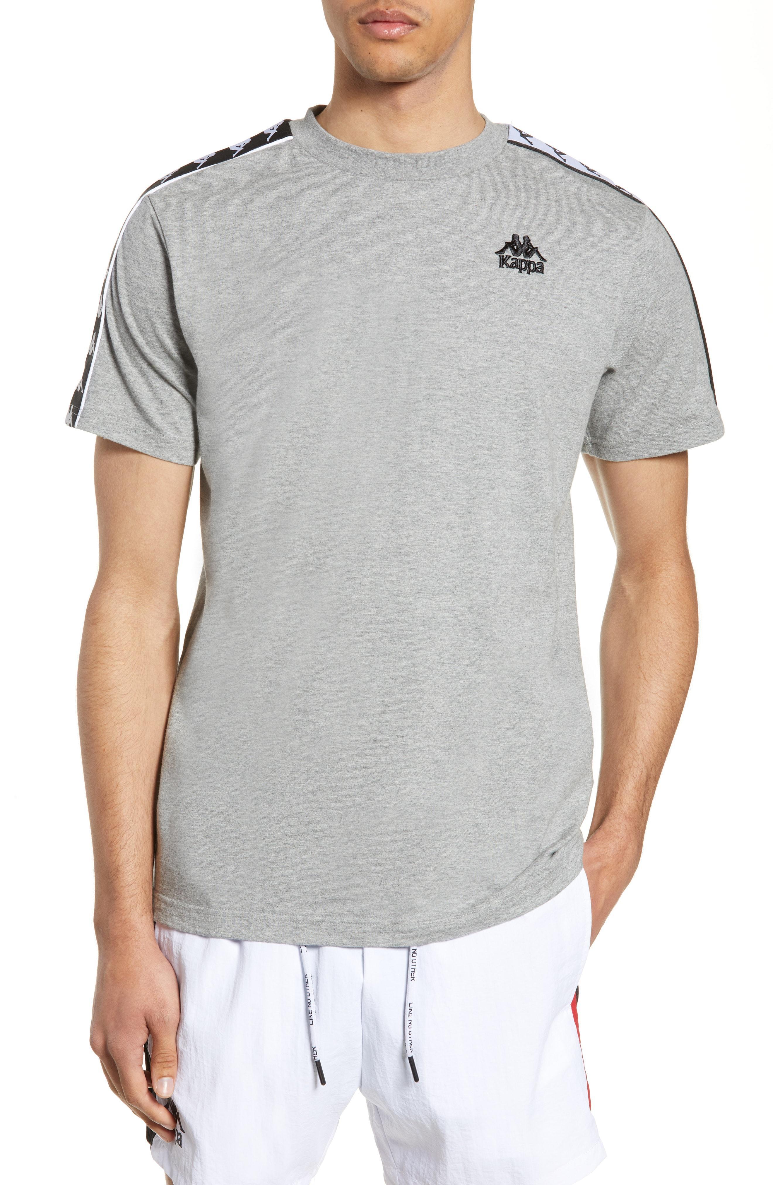 e99469f992 Kappa 222 Banda Charlton T-shirt in Gray for Men - Lyst