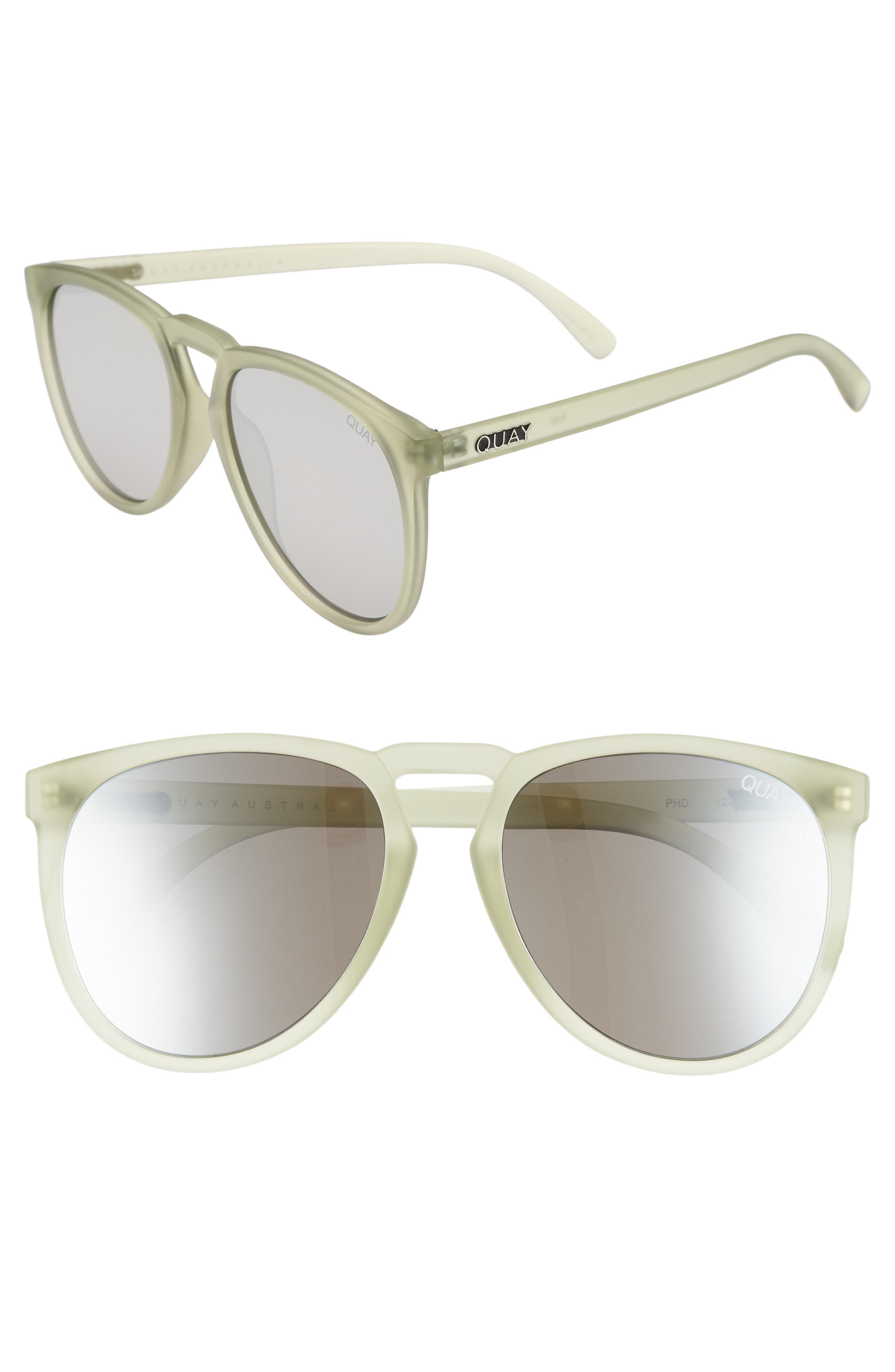 109d4162ad Quay - Metallic Phd 56mm Sunglasses - Olive  Silver for Men - Lyst. View  fullscreen