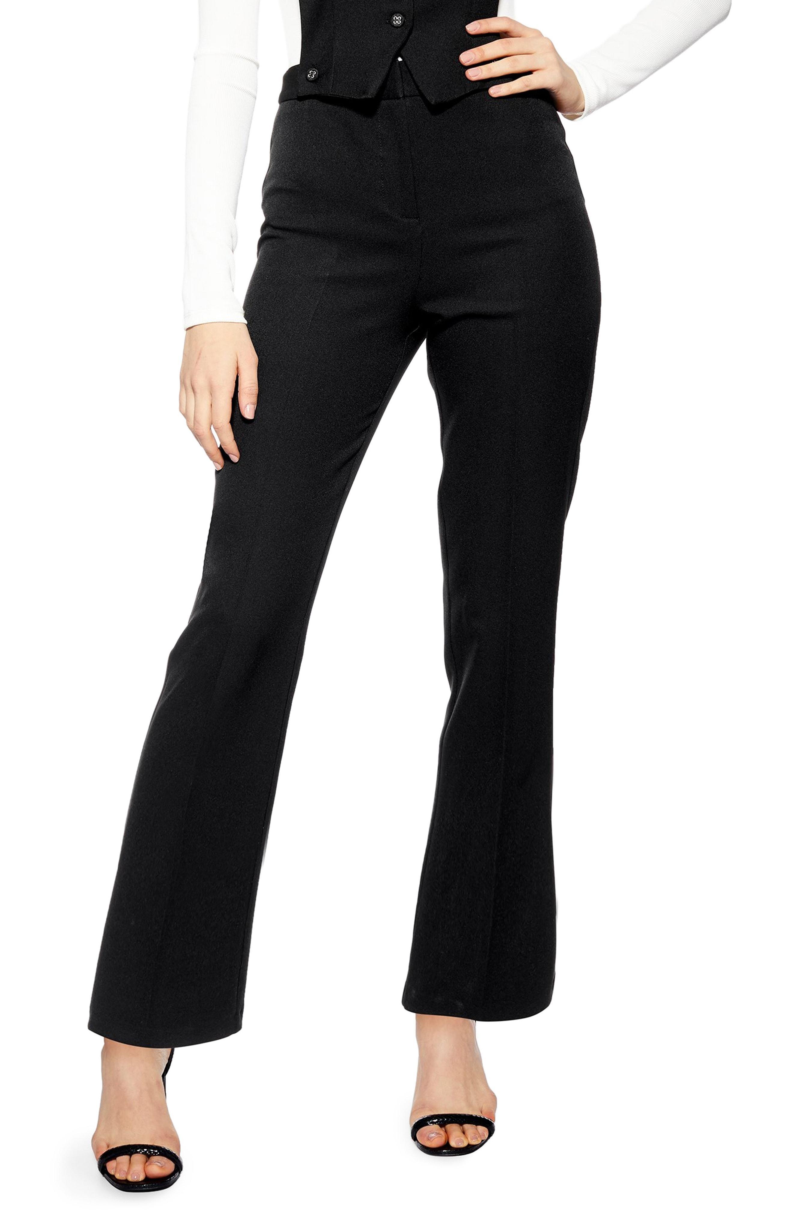 55669dbf9bb4 Lyst - Topshop 2-in-1 Waistcoat Jumpsuit in Black