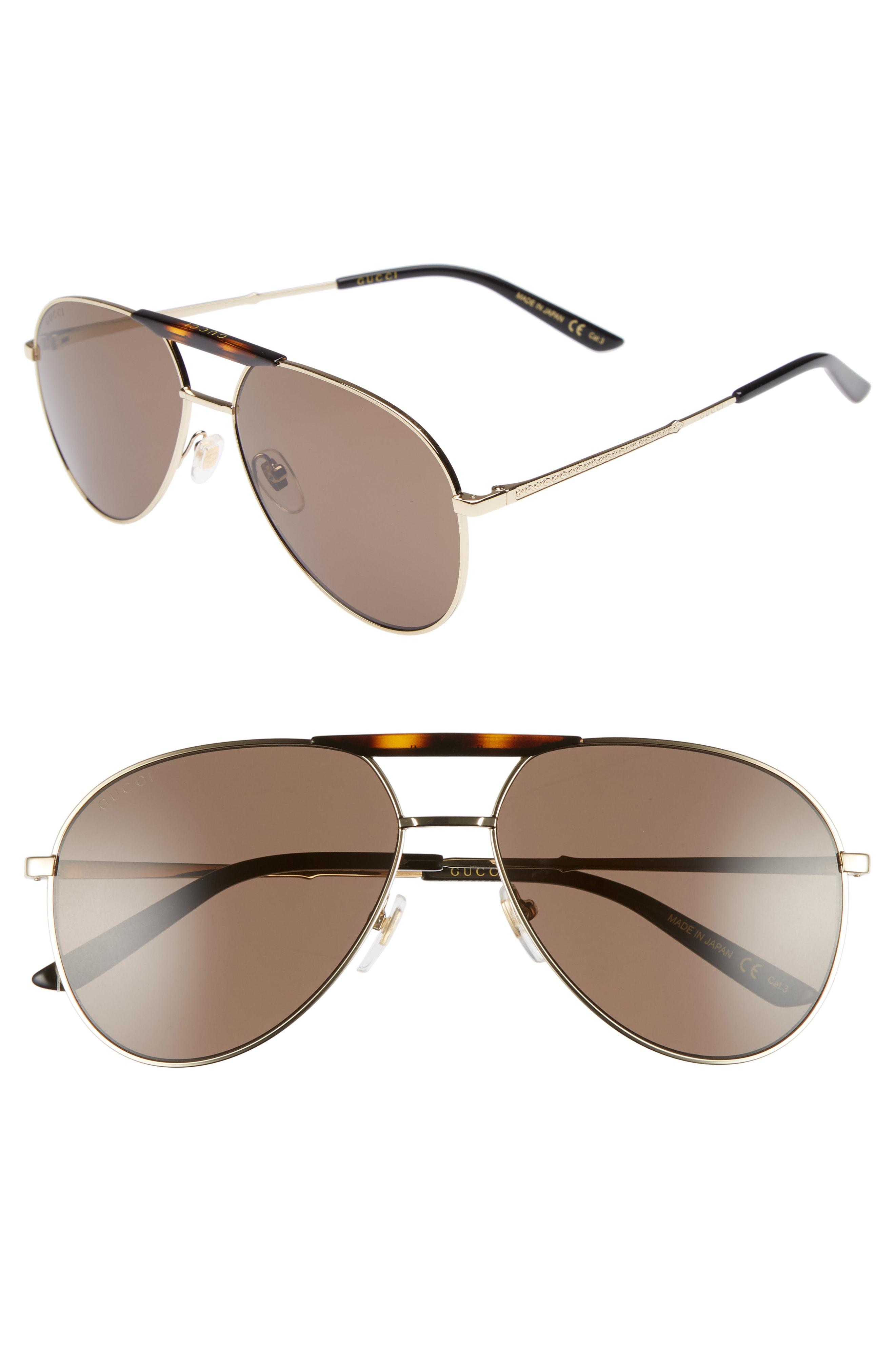d9a73c9e9b4ce Lyst - Gucci Cruise 59mm Aviator Sunglasses - for Men