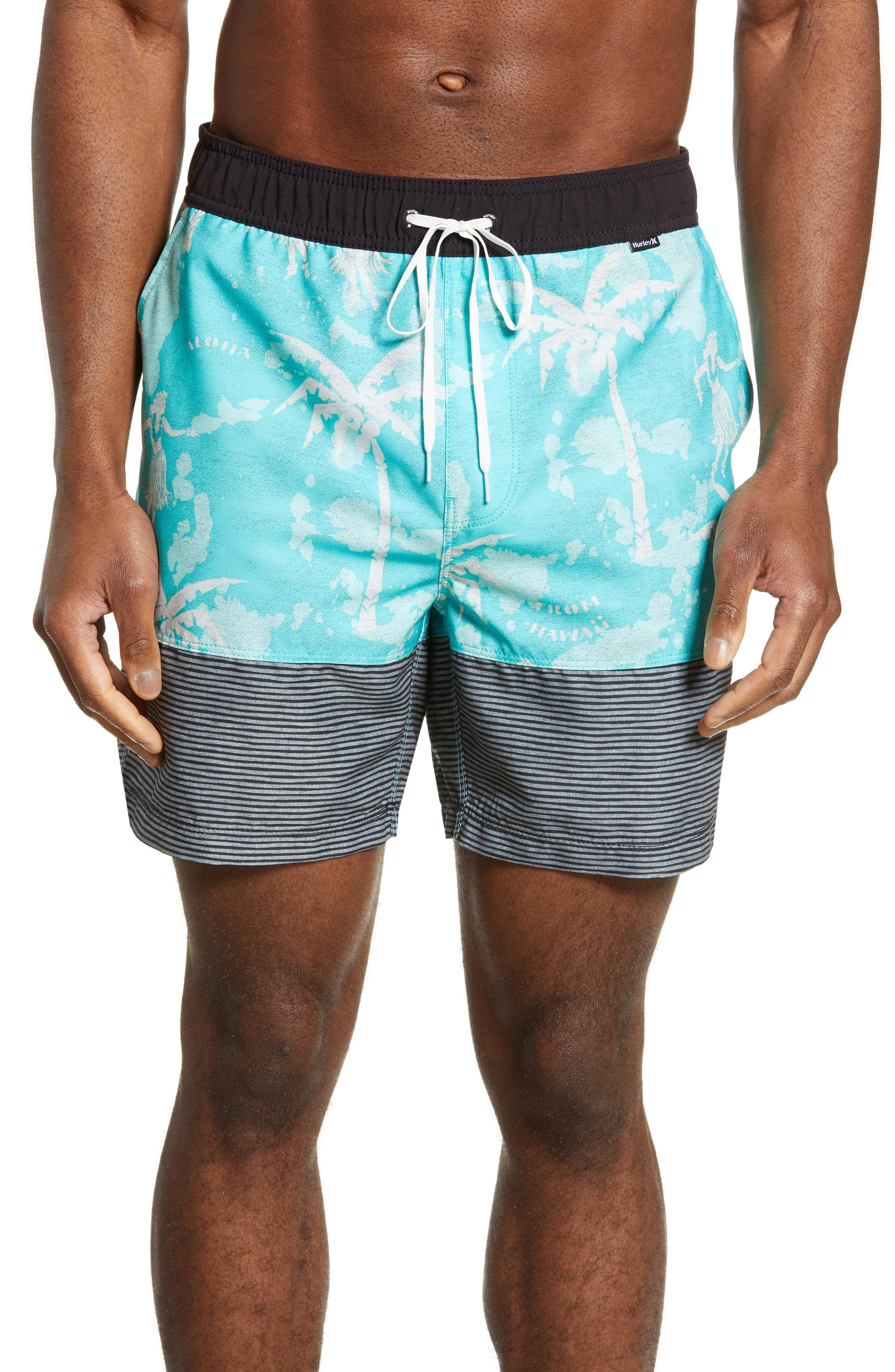829b1d7548 Lyst - Hurley Aloha Only Volley Shorts in Blue for Men