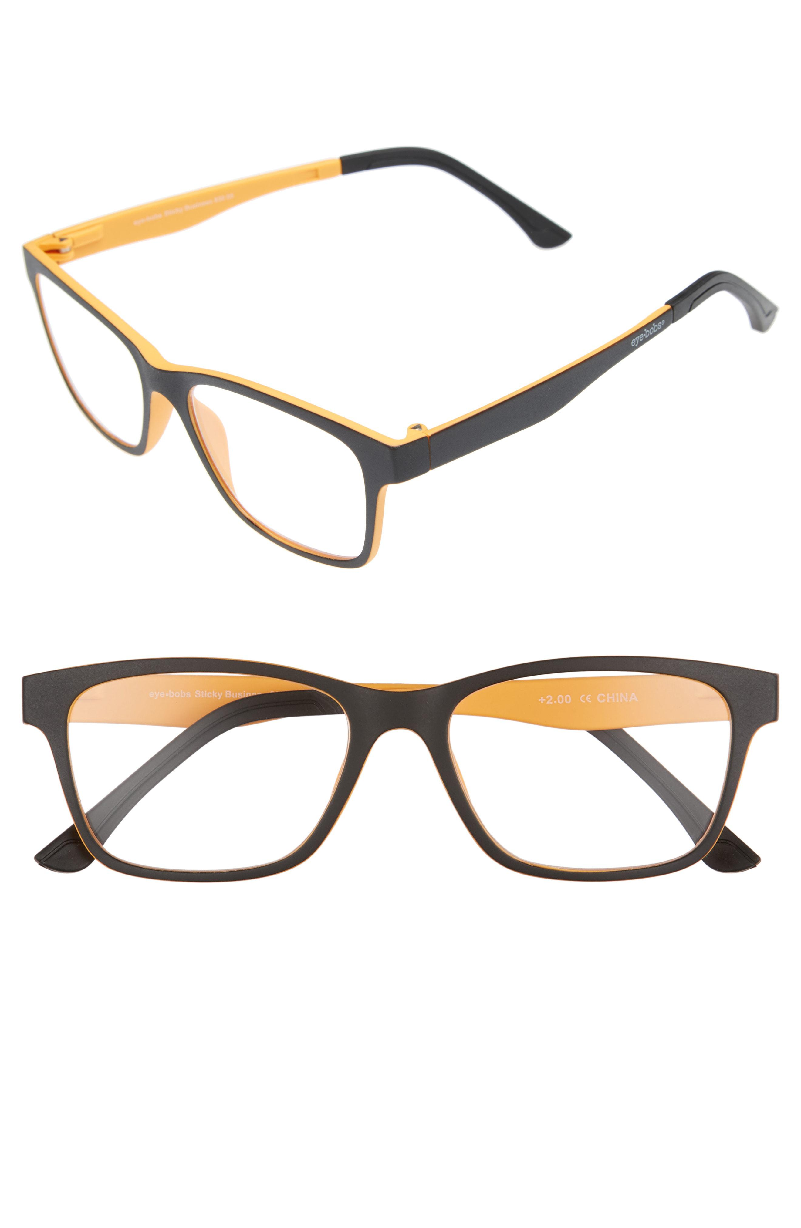 79161cdaa43d Lyst - Eyebobs Sticky Business 52mm Reading Glasses With Polarized ...