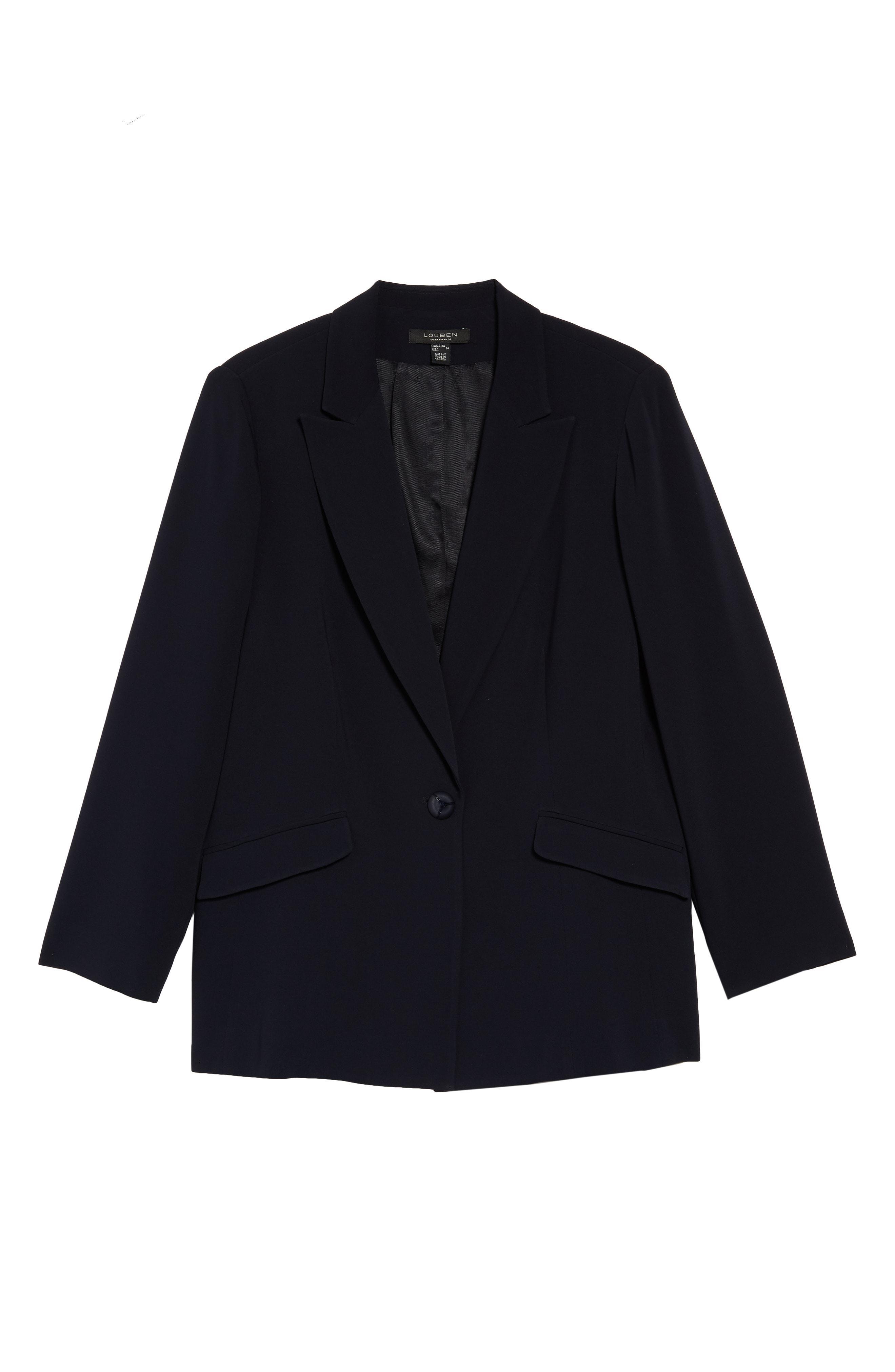 4a6bb4d9b88 Louben - Black Peak Lapel Suit Jacket - Lyst. View fullscreen