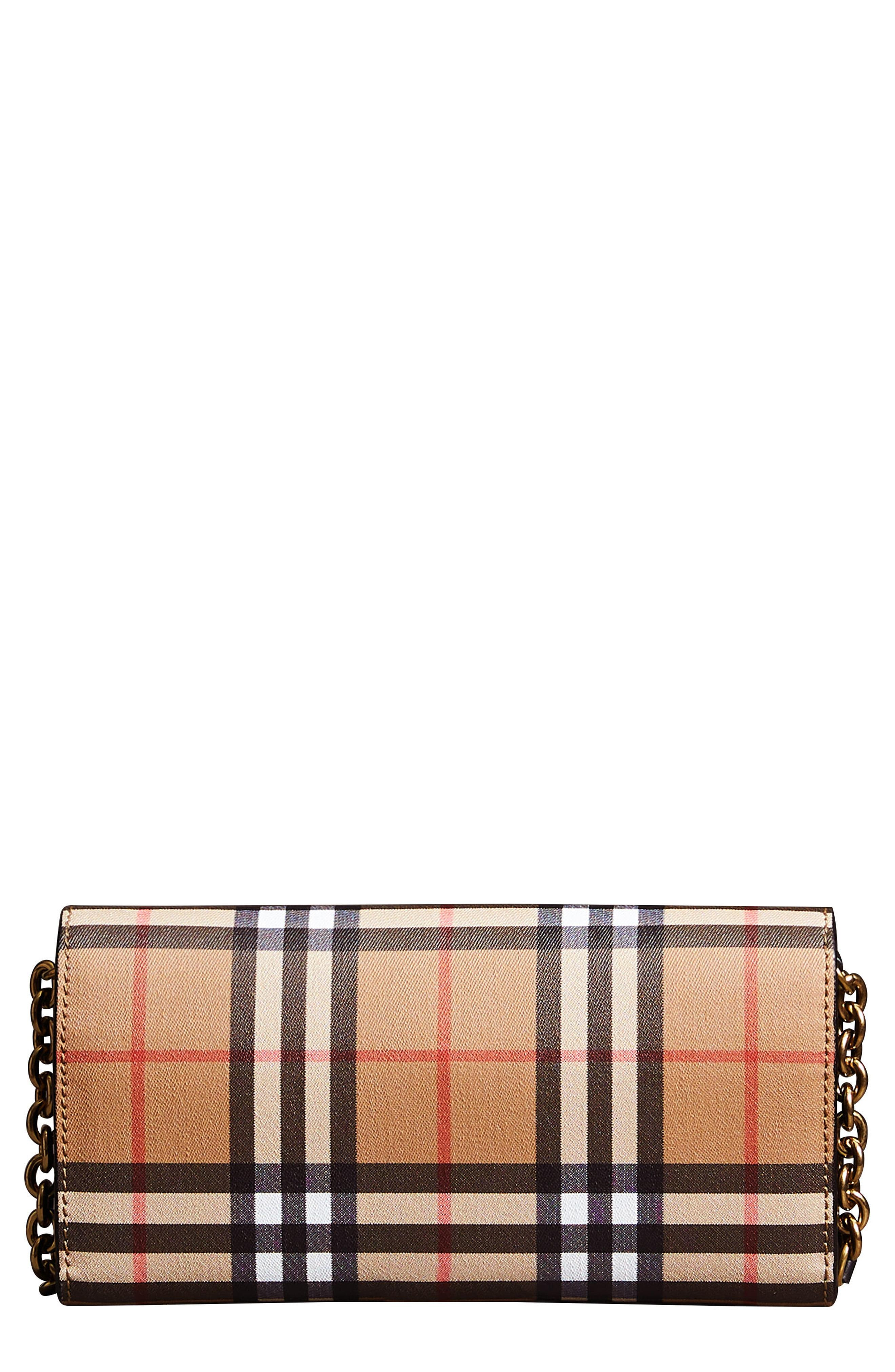 830501954c87 Burberry. Women s Henley Vintage Check Wallet On A Chain -