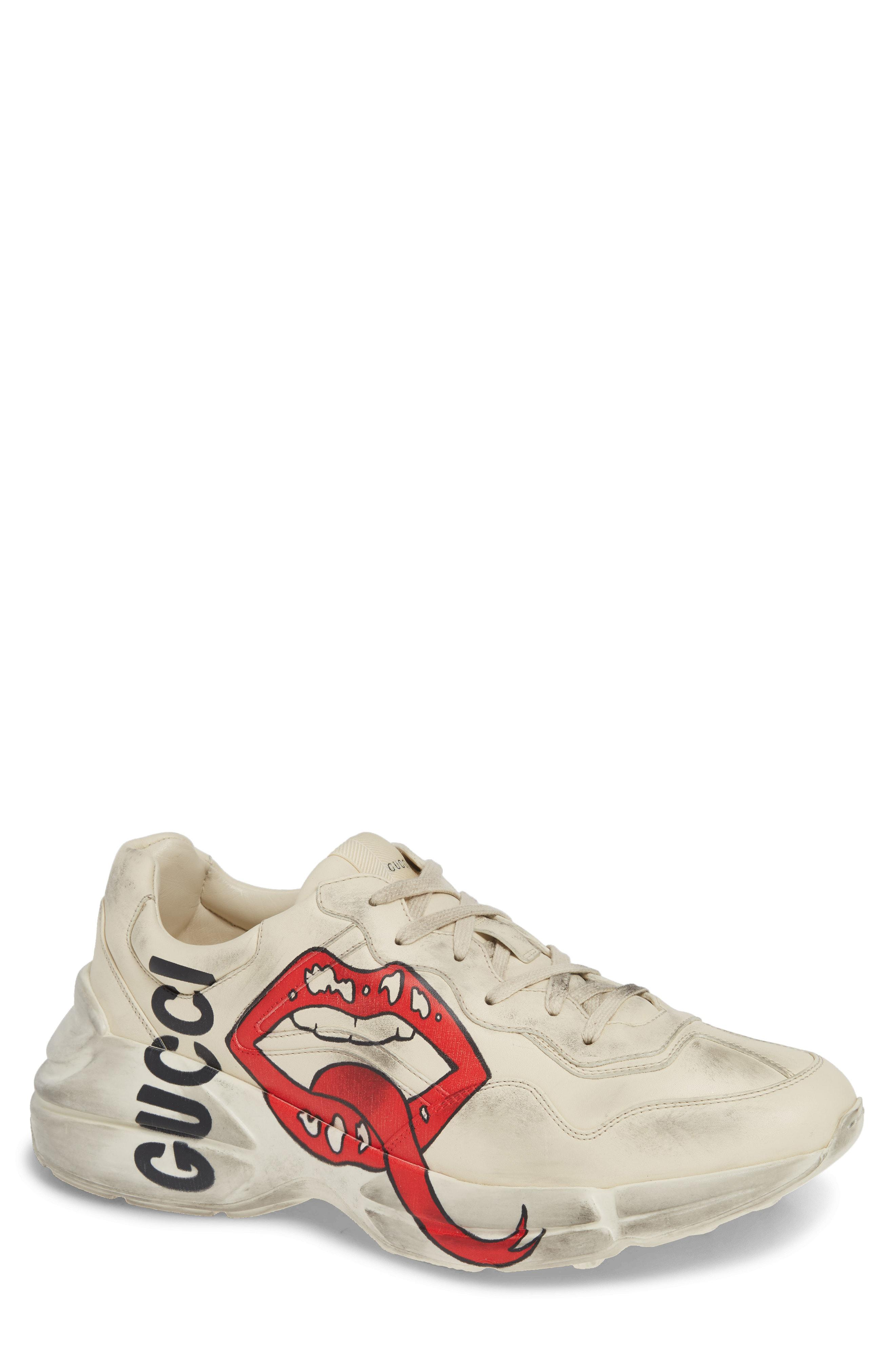 4461a0eb107 Gucci Rhyton Sneaker in White for Men - Save 4.3724696356275246% - Lyst