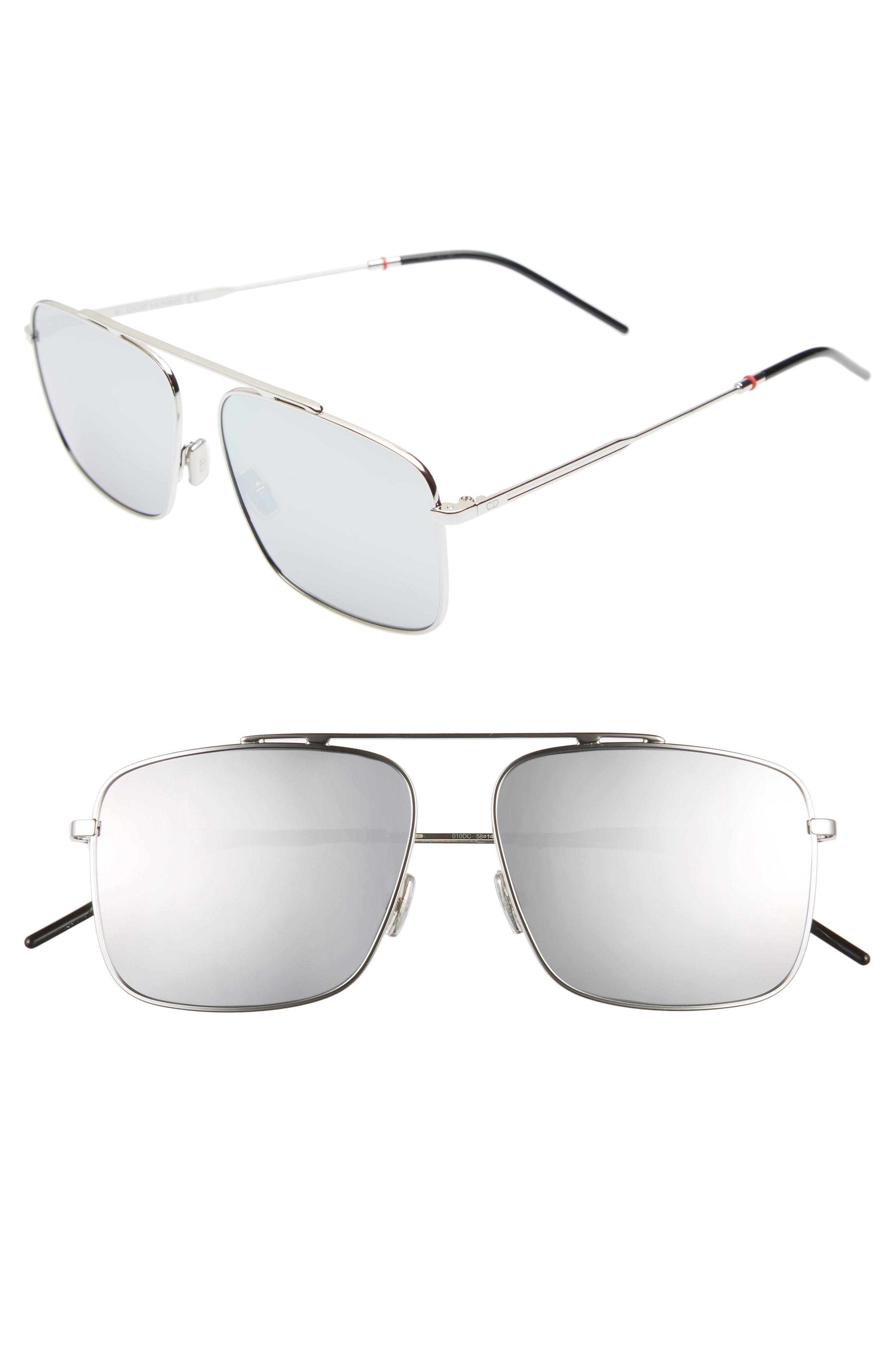 74f1d0191a9 Lyst - Dior 58mm Mirrored Navigator Sunglasses - for Men