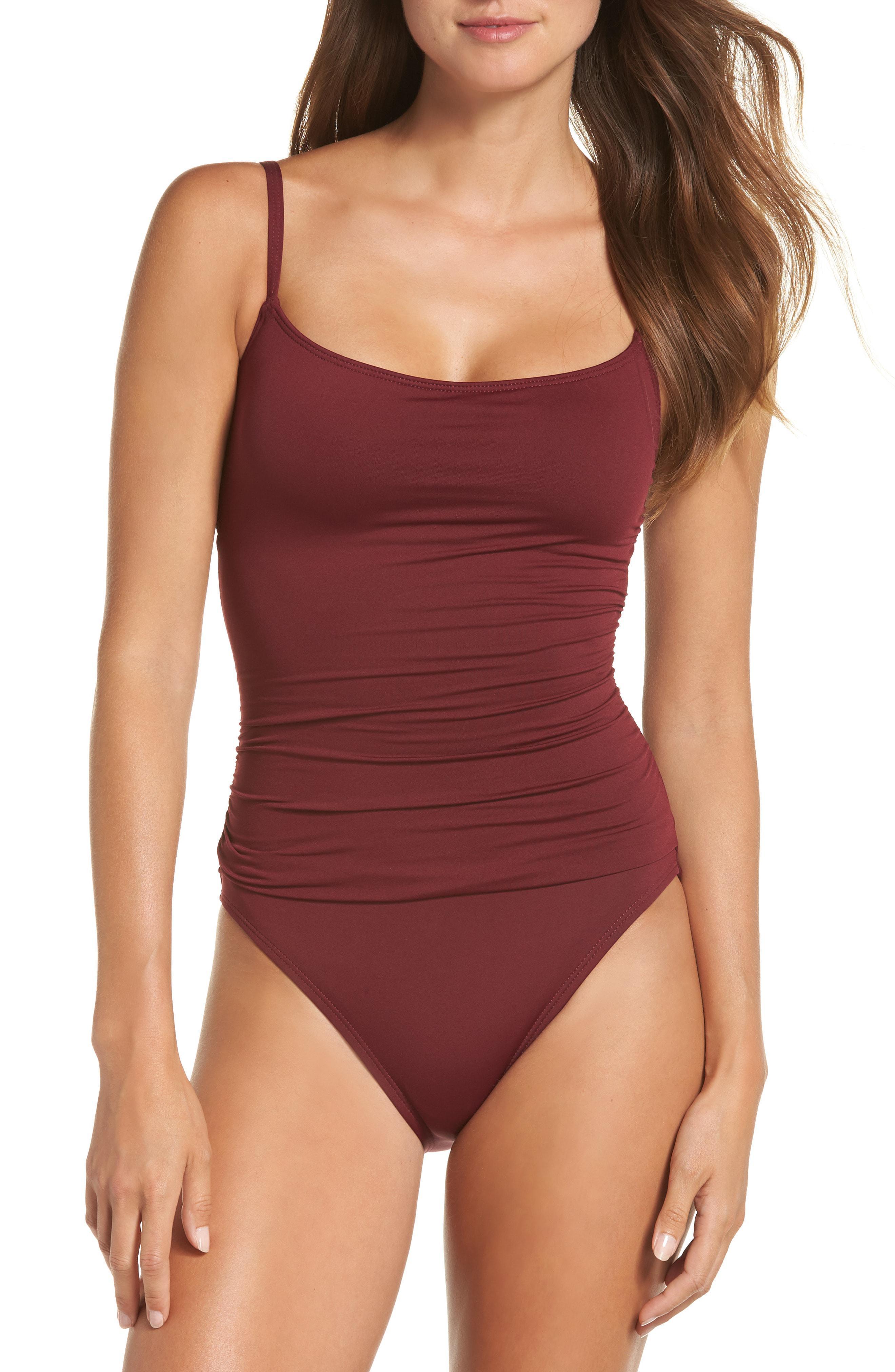 a9c9f07cf2 Lyst - La Blanca  island Goddess  One-piece Swimsuit in Red