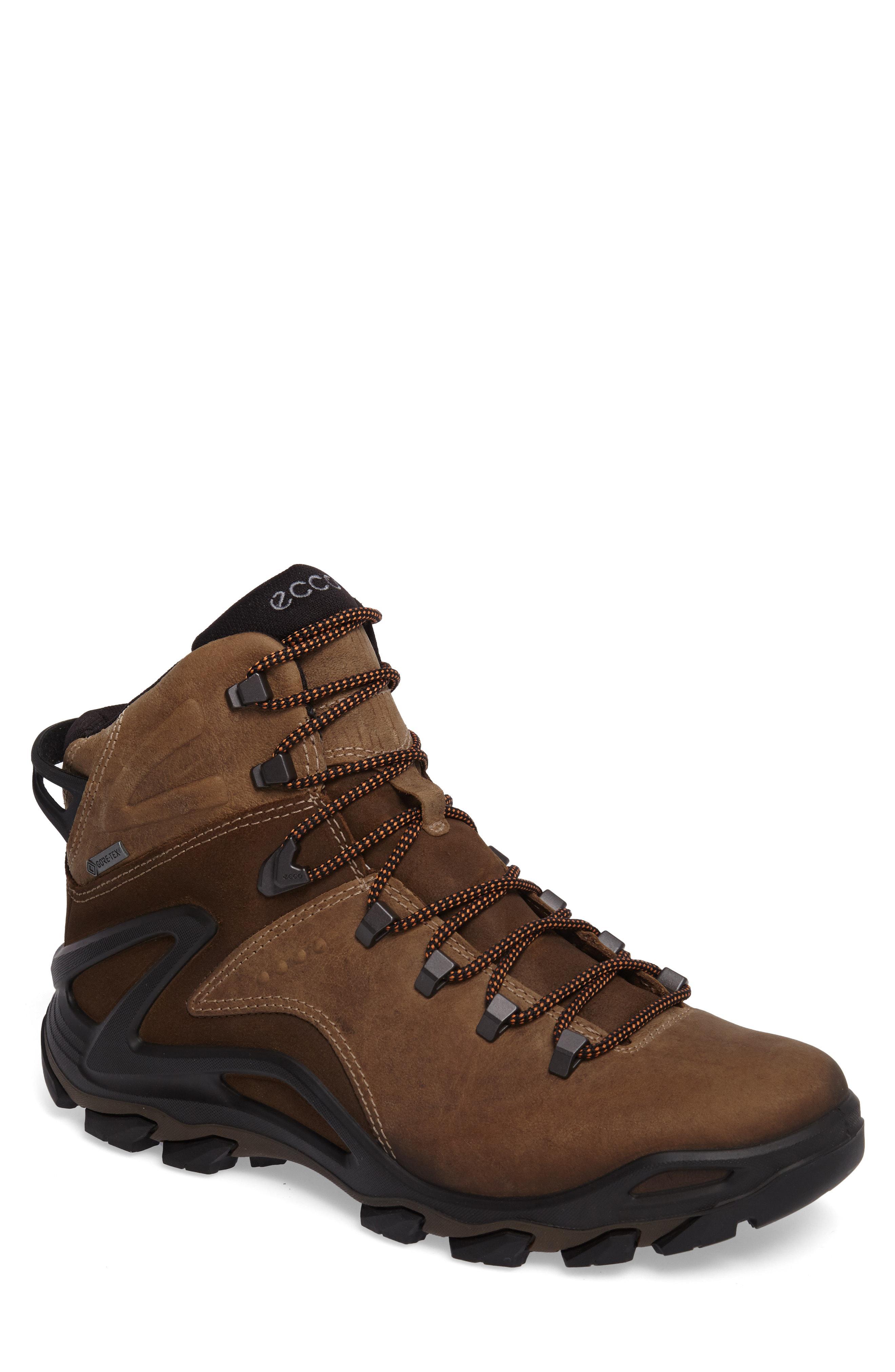 d7f89ed0d0 Lyst - Ecco Terra Evo Gtx Mid Hiking Waterproof Boot in Metallic for Men
