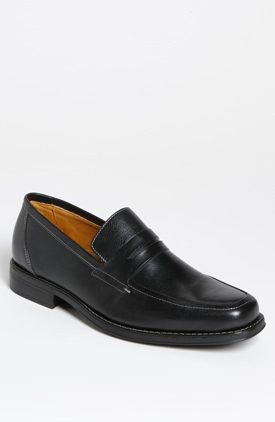 dfcc945cc6b Lyst - Sandro Moscoloni  stuart  Penny Loafer in Black for Men