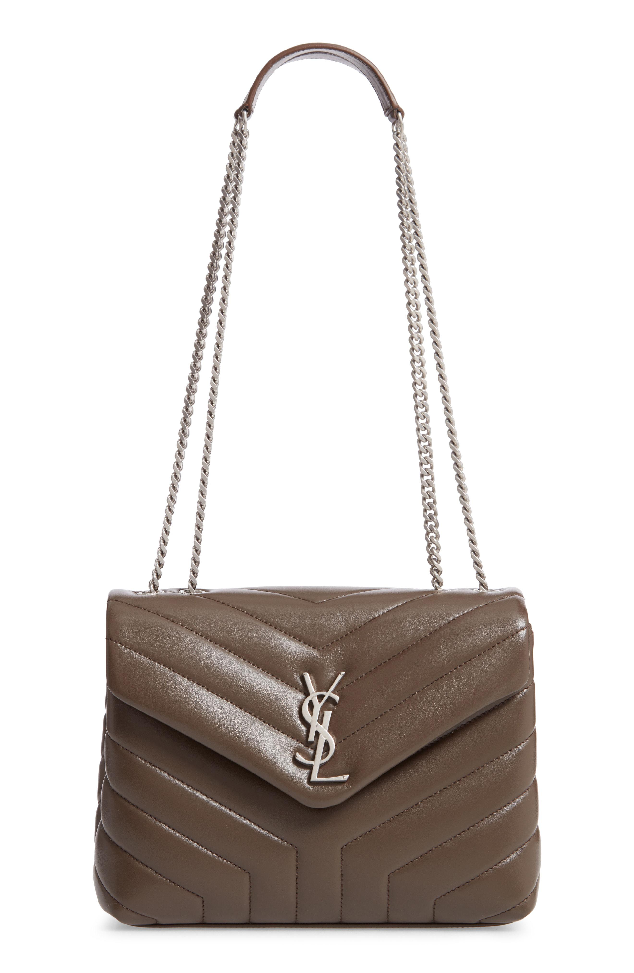 02b464e31140c Saint Laurent. Women's Small Loulou Matelasse Leather Shoulder Bag