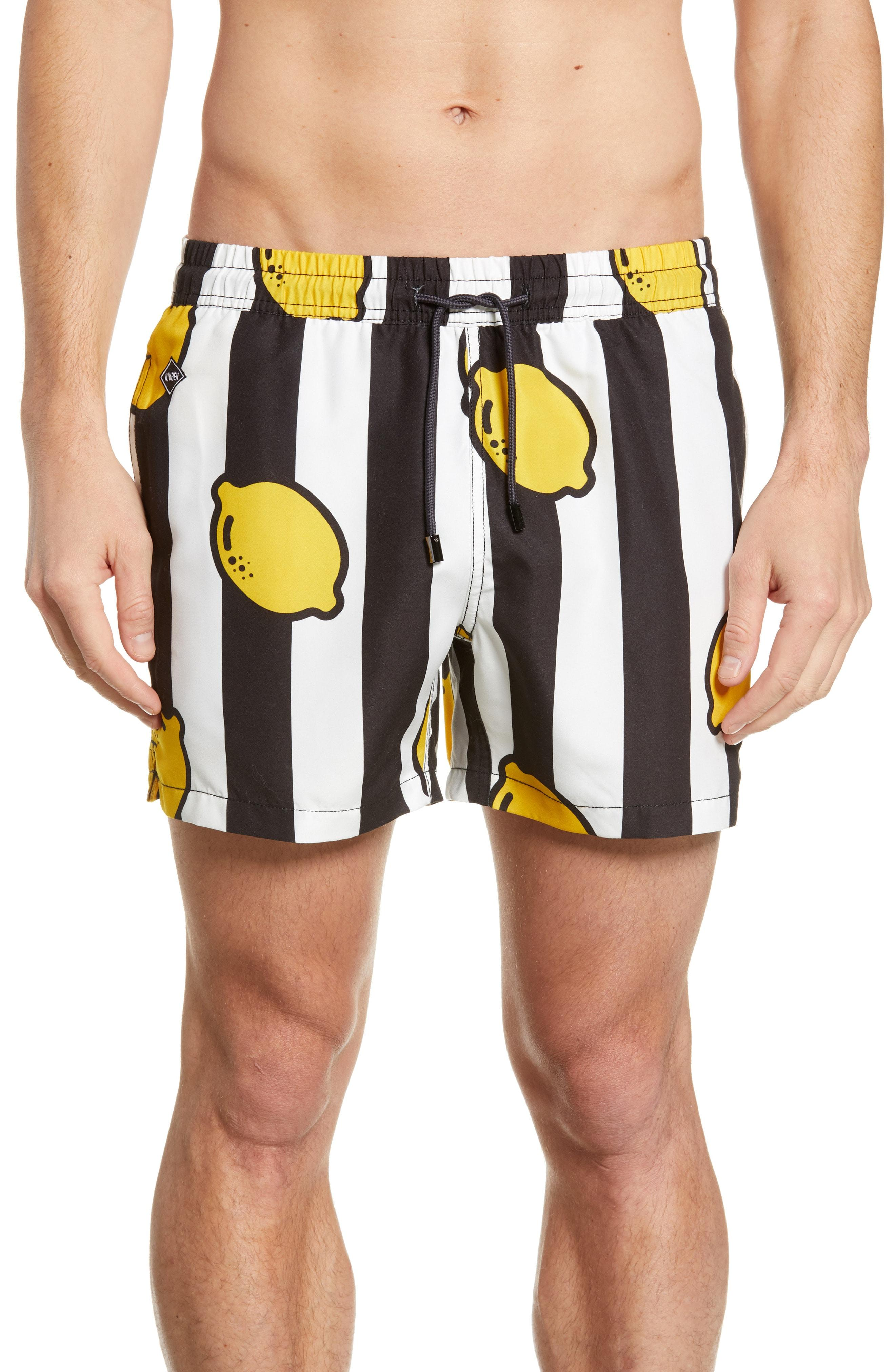 f706e0fd5c Lyst - Nikben Limoncello Swim Trunks for Men