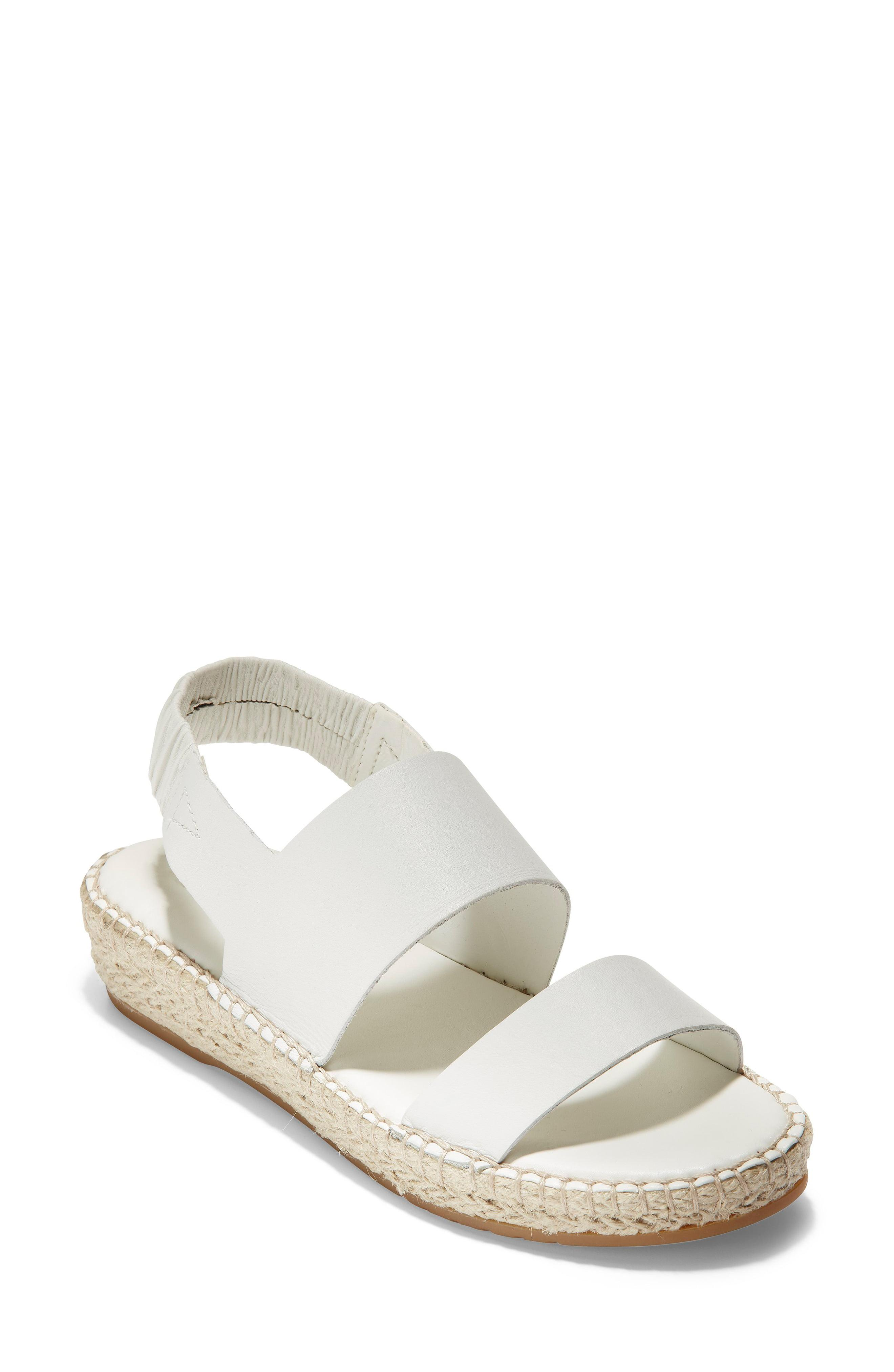 69c02445e0f Lyst - Cole Haan Cloudfeel Espadrille Sandals in White - Save 31%