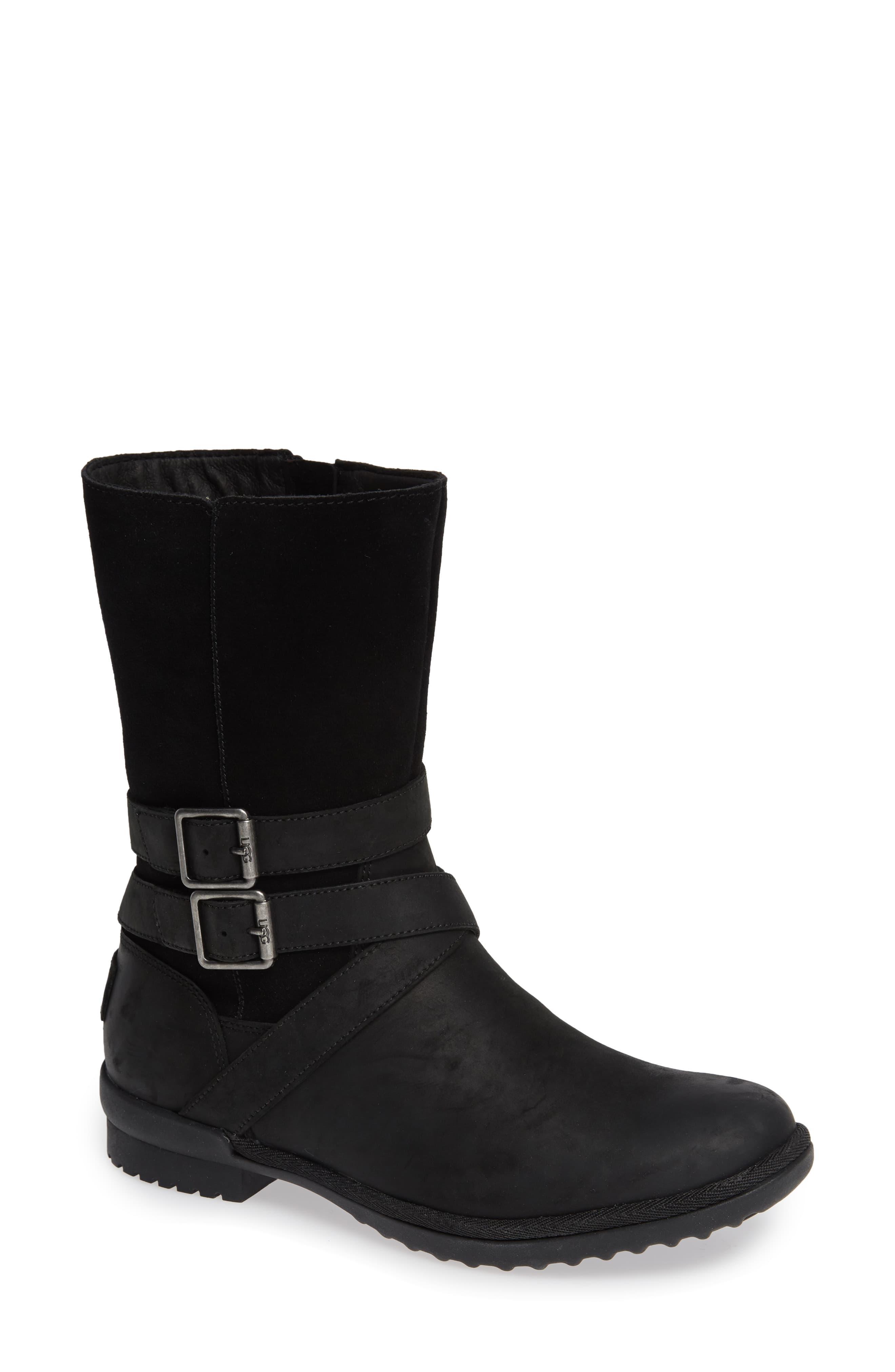 df8af0ba9d5 UGG Ugg Lorna Waterproof Bootie in Black - Lyst