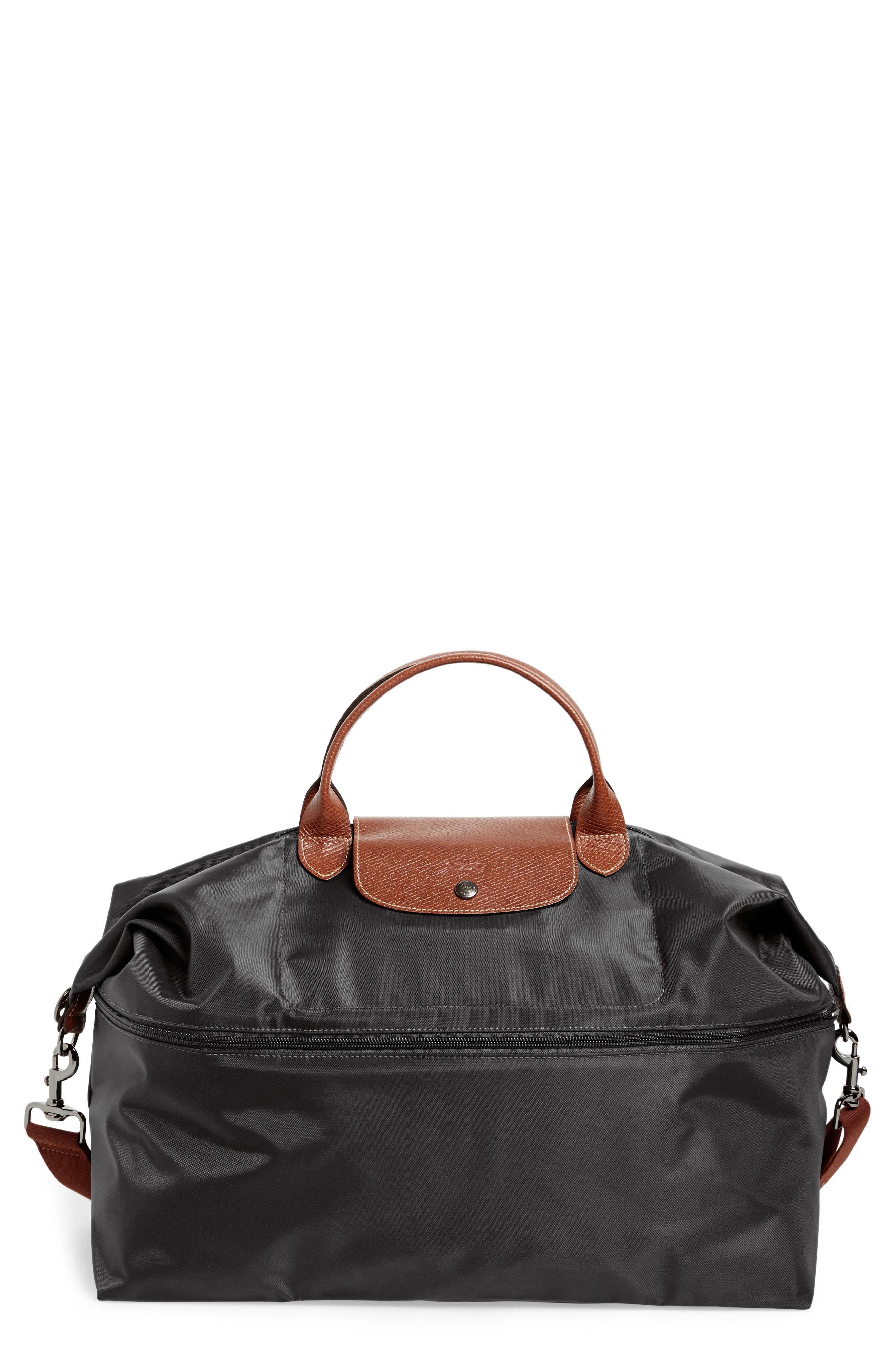 Lyst - Longchamp  le Pliage  Expandable Travel Bag in Black f64e3e5667771