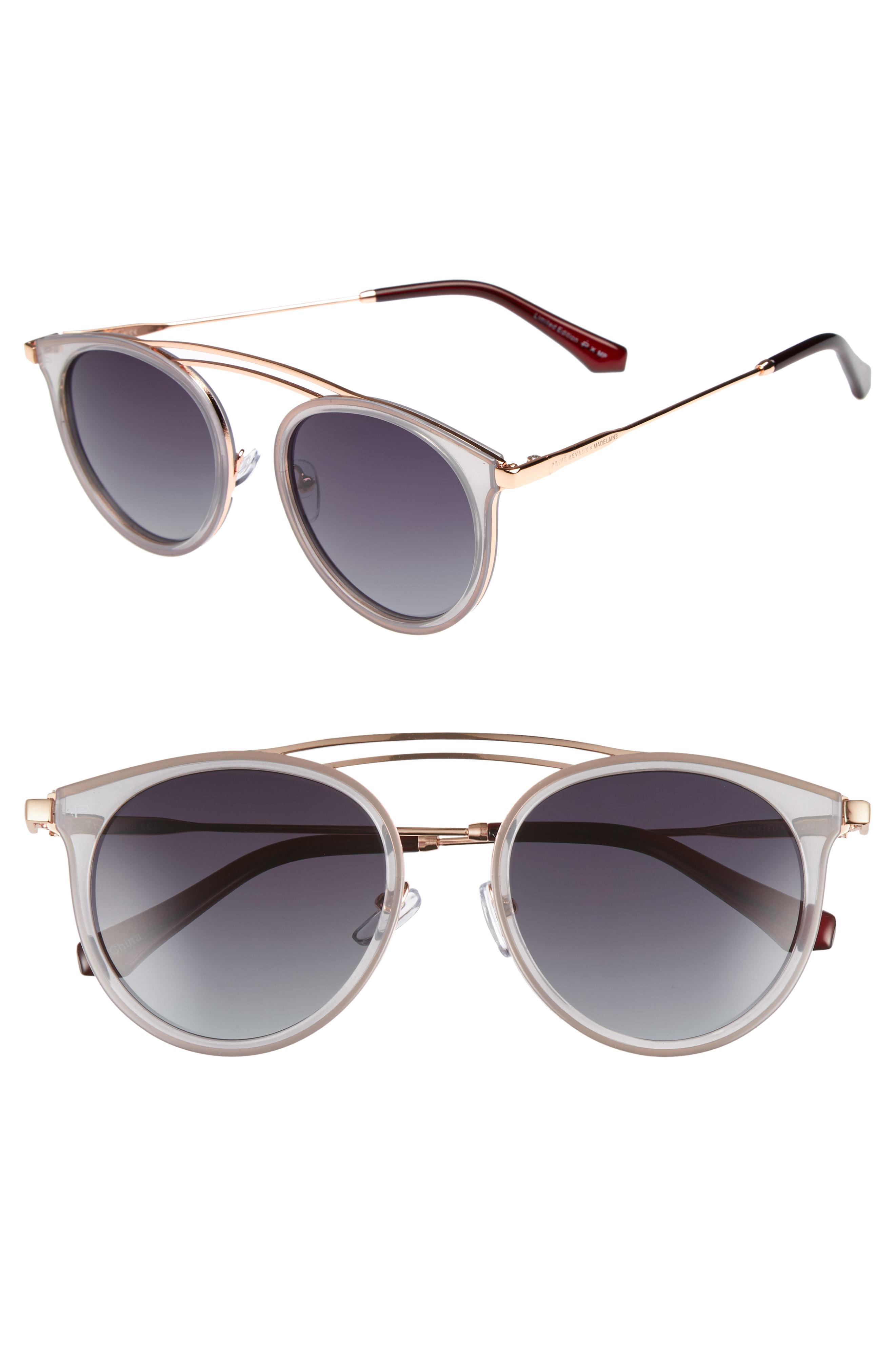 f4739ade765 Lyst - Privé Revaux X Madelaine Petsch The Rogue 50mm Sunglasses -