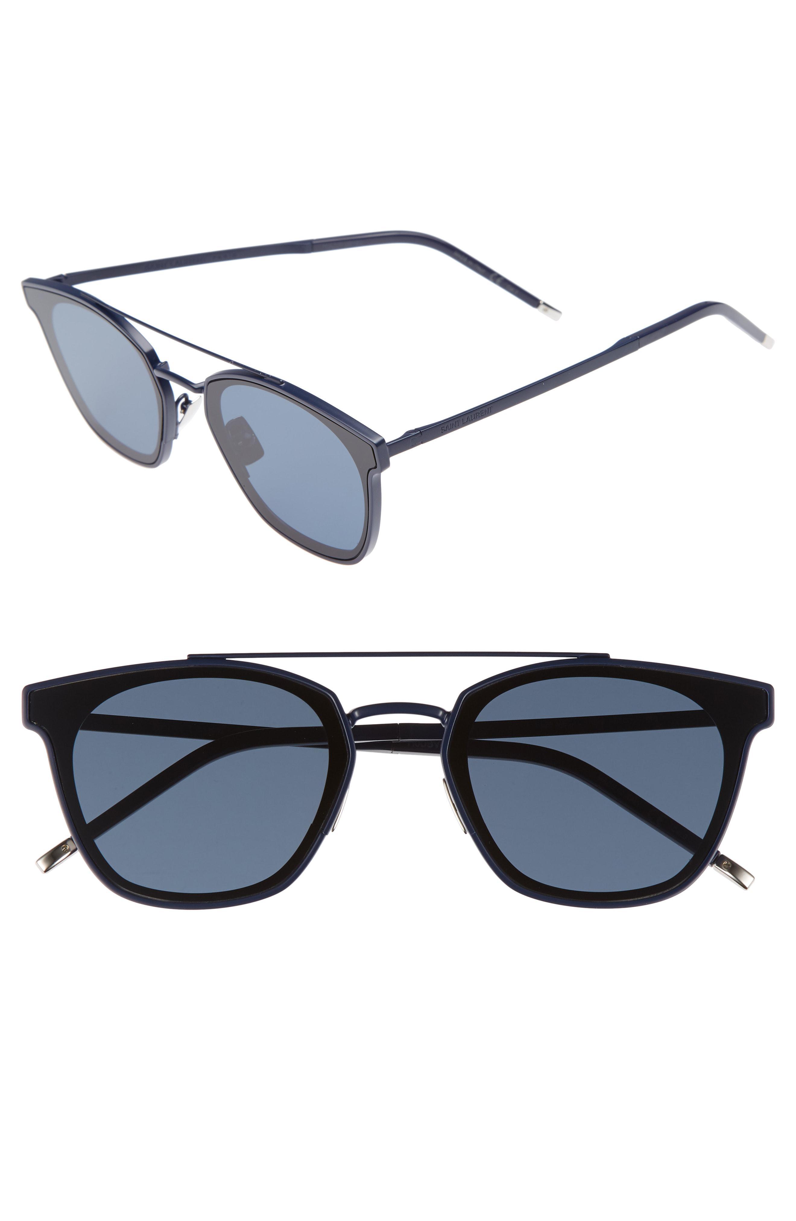 266d811fae22 Lyst - Saint Laurent Sl 28 61mm Polarized Sunglasses - in Brown for Men